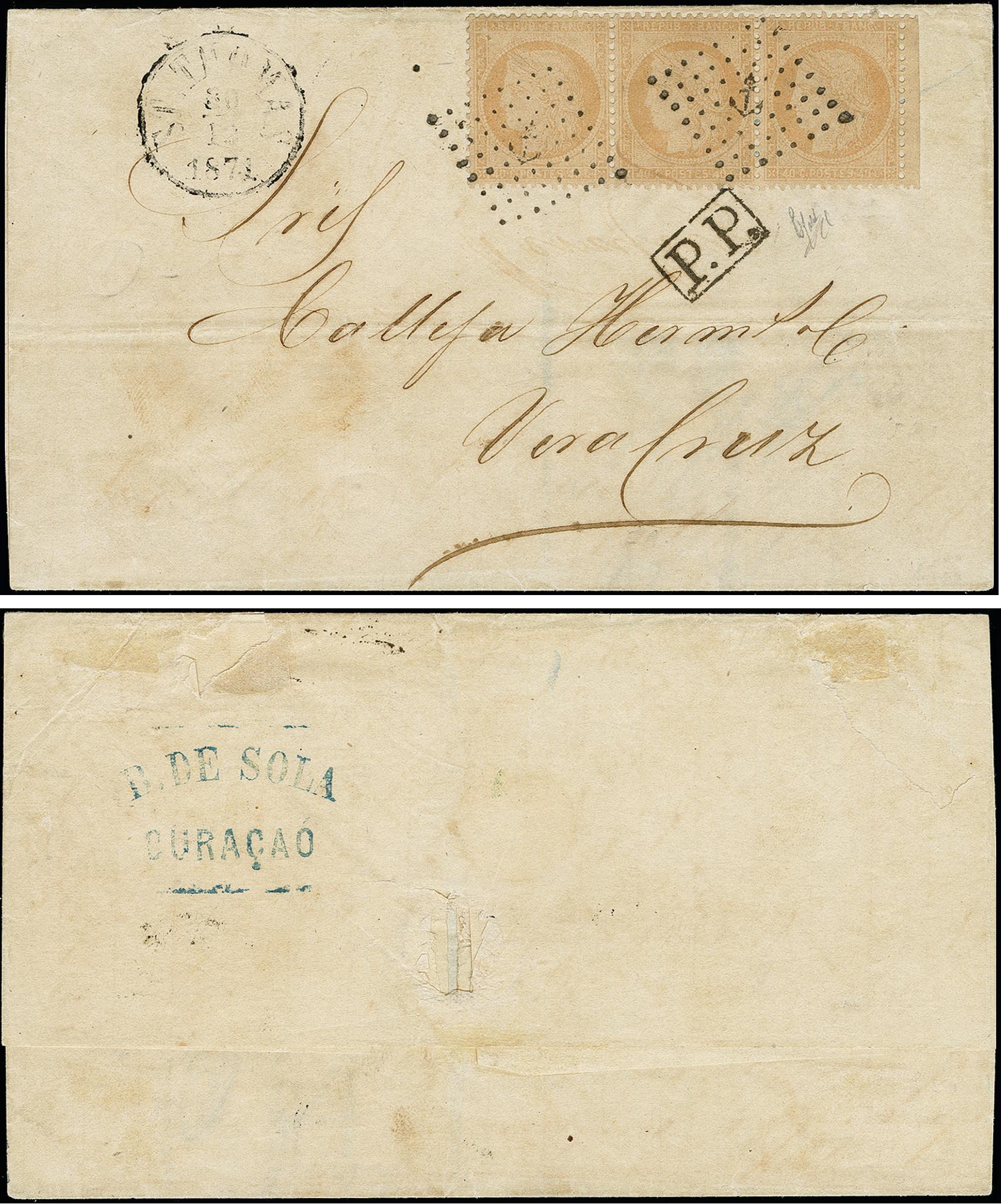 Lot 452 - dutch colonies Curacao, Danish West Indies -  Heinrich Koehler Auktionen 373rd Heinrich Köhler auction - Day 1