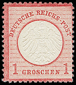 Lot 2620 - Main catalogue German Empire -  Heinrich Koehler Auktionen 373rd Heinrich Köhler auction - Day 5