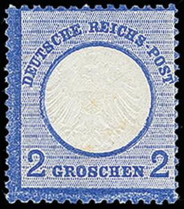Lot 2621 - Main catalogue German Empire -  Heinrich Koehler Auktionen 373rd Heinrich Köhler auction - Day 5