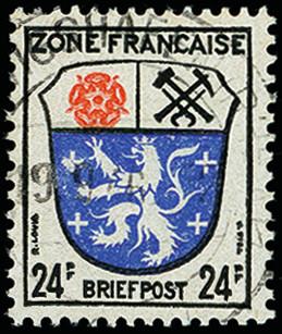 Lot 2393 - french occupation zone french occupation zone - general issues -  Heinrich Koehler Auktionen 373rd Heinrich Köhler auction - Day 4