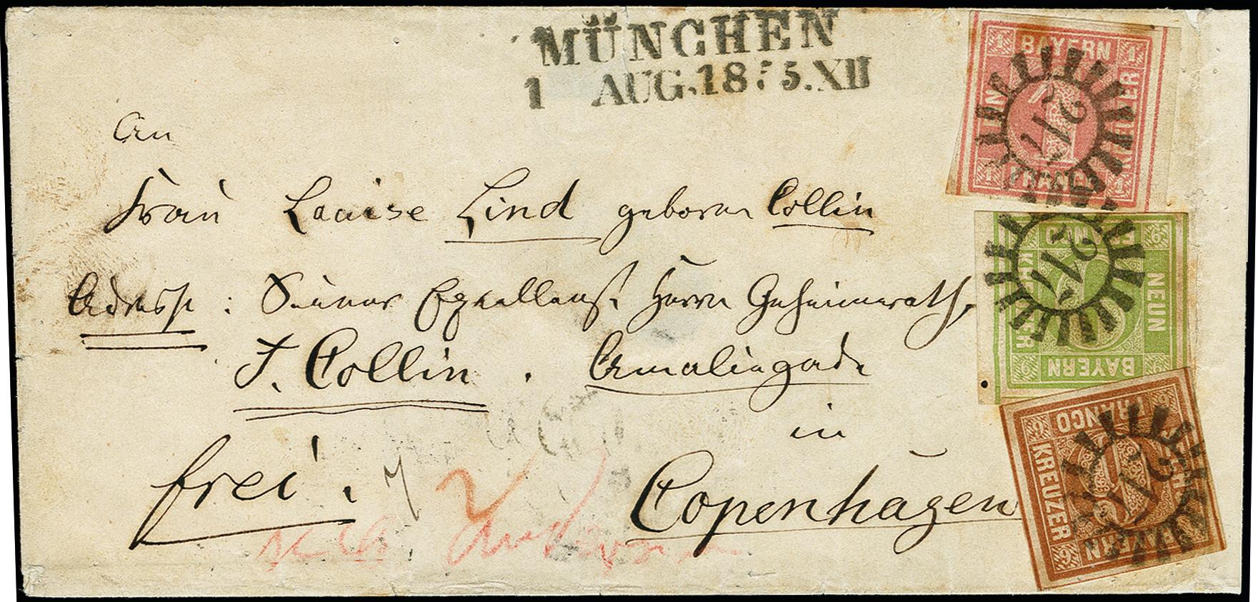 Lot 2883 - german states bavaria -  Heinrich Koehler Auktionen 373rd Heinrich Köhler auction - Day 5