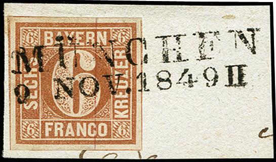 Lot 2871 - german states bavaria -  Heinrich Koehler Auktionen 373rd Heinrich Köhler auction - Day 5