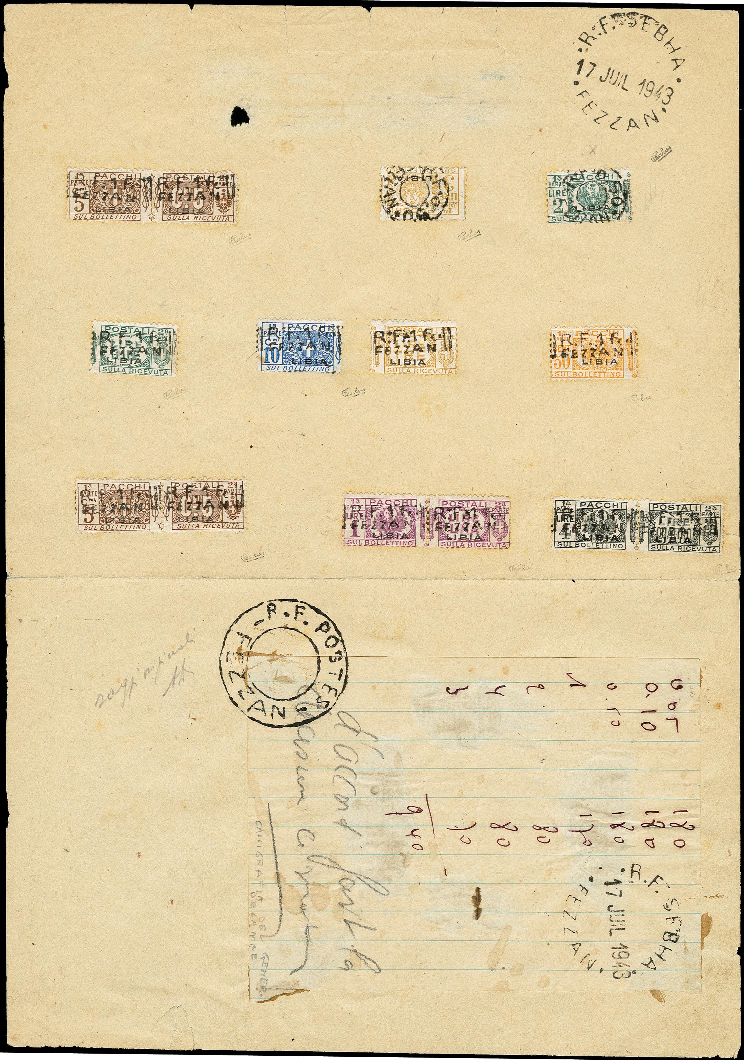 Lot 495 - french colonies fezzan -  Heinrich Koehler Auktionen 373rd Heinrich Köhler auction - Day 1