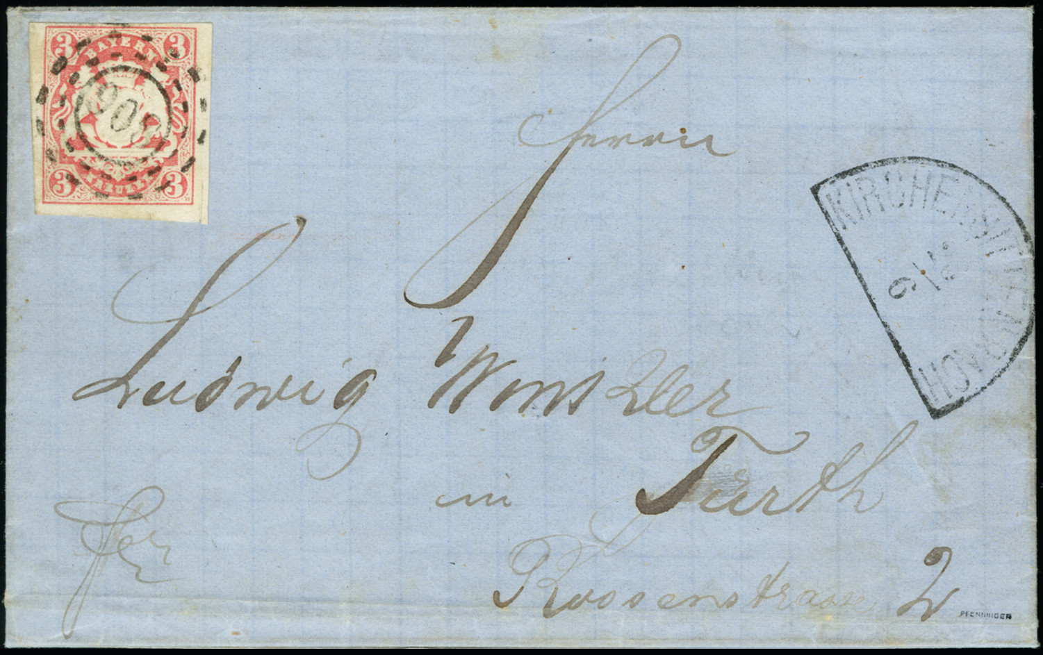 Lot 2943 - bavaria bavaria cancellations -  Heinrich Koehler Auktionen 373rd Heinrich Köhler auction - Day 5