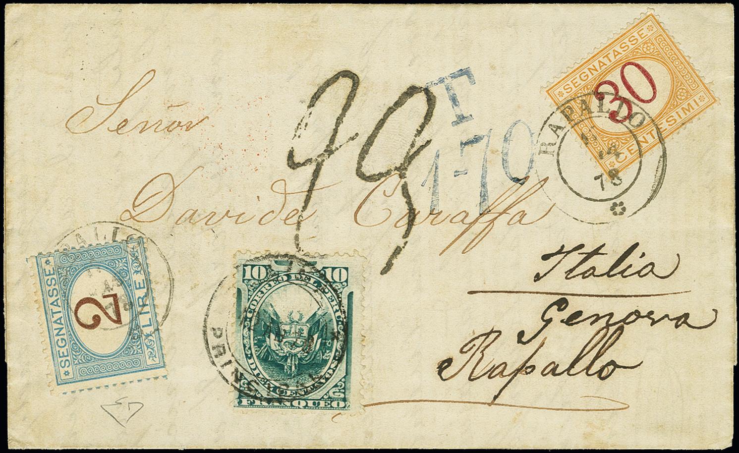 Lot 1263 - Overseas Peru -  Heinrich Koehler Auktionen 373rd Heinrich Köhler auction - Day 2