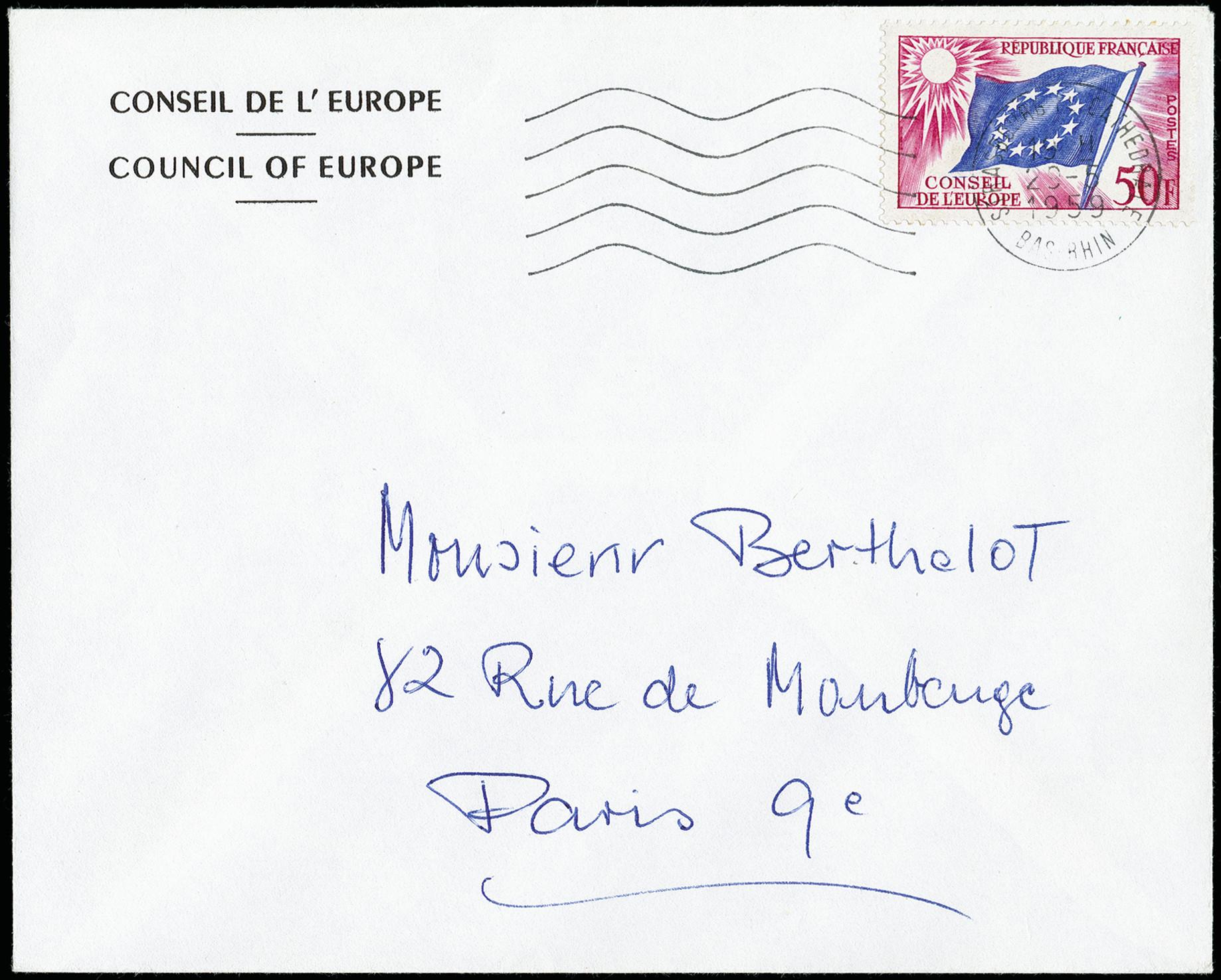 Lot 482 - France France - officials for the European Council -  Heinrich Koehler Auktionen 373rd Heinrich Köhler auction - Day 1