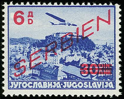 Lot 1953 - german occupation issues 1939/45 serbia -  Heinrich Koehler Auktionen 373rd Heinrich Köhler auction - Day 1
