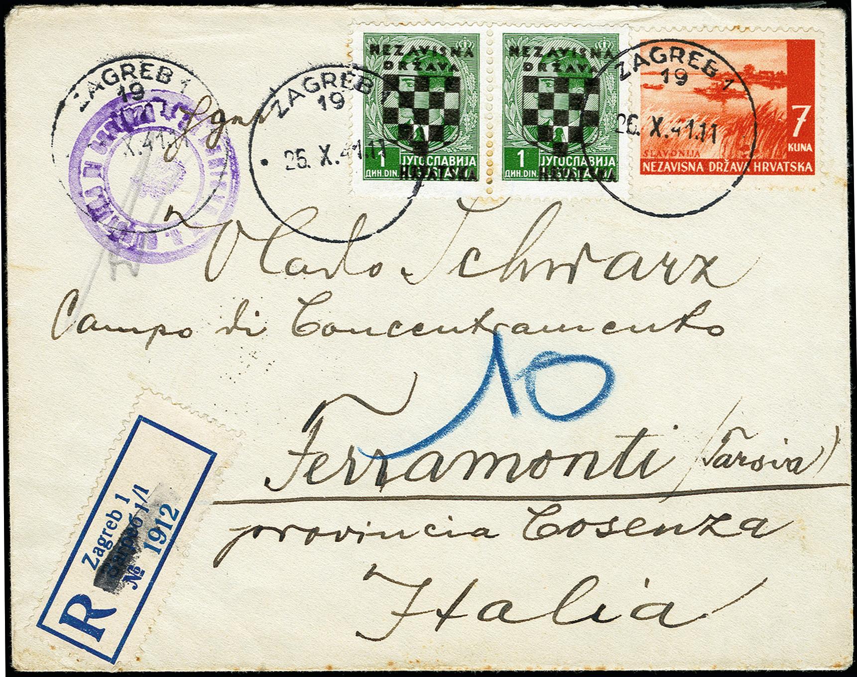 Lot 266 - europe Croatia -  Heinrich Koehler Auktionen 373rd Heinrich Köhler auction - Day 1