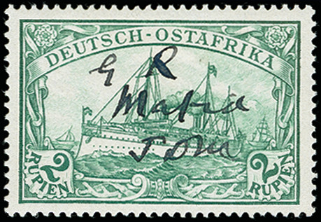 Lot 1226 - British Commonwealth Mafia, German East Africa -  Heinrich Koehler Auktionen 373rd Heinrich Köhler auction - Day 2