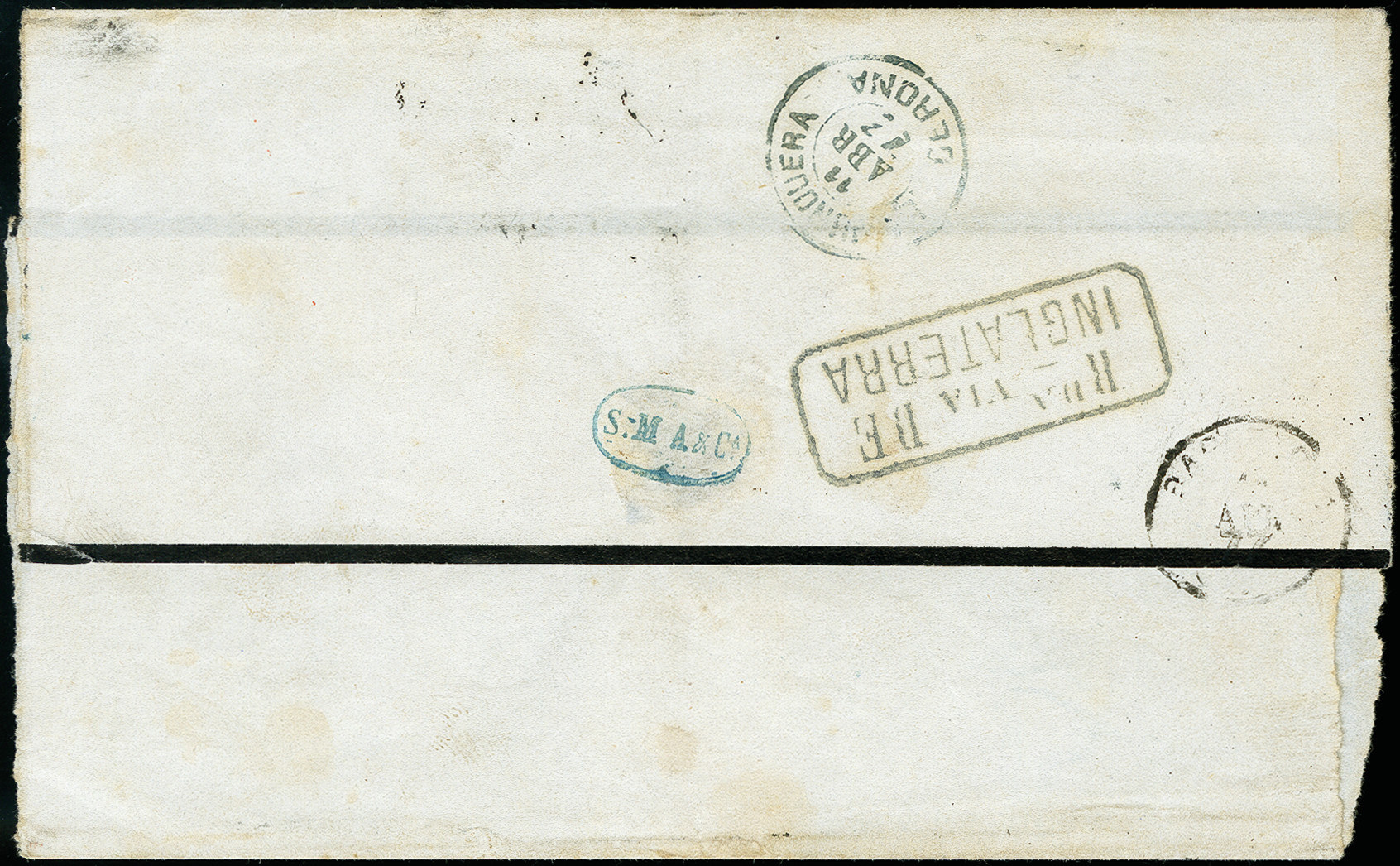 Lot 6077 - europe Danish West Indies, Ship Mail -  Heinrich Koehler Auktionen 373rd Heinrich Köhler auction - Day 1