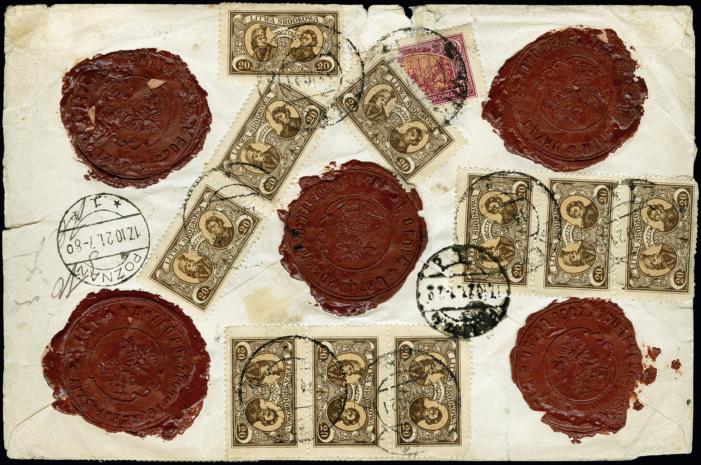 Lot 181 - europe central lithuania -  Heinrich Koehler Auktionen 373rd Heinrich Köhler auction - Day 1