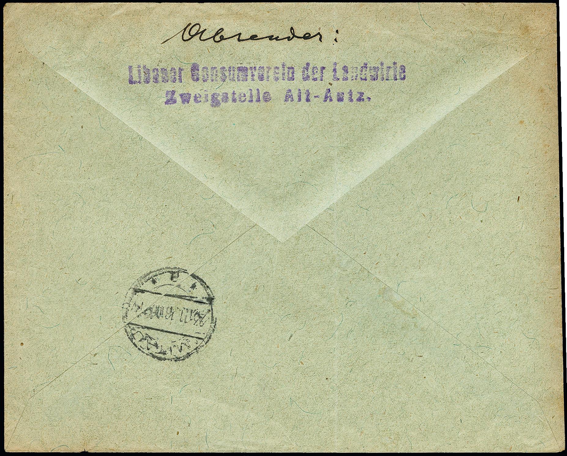 Lot 113 - Occupation World War I. Ober Ost, Central Lithuania -  Heinrich Koehler Auktionen 373rd Heinrich Köhler auction - Day 1