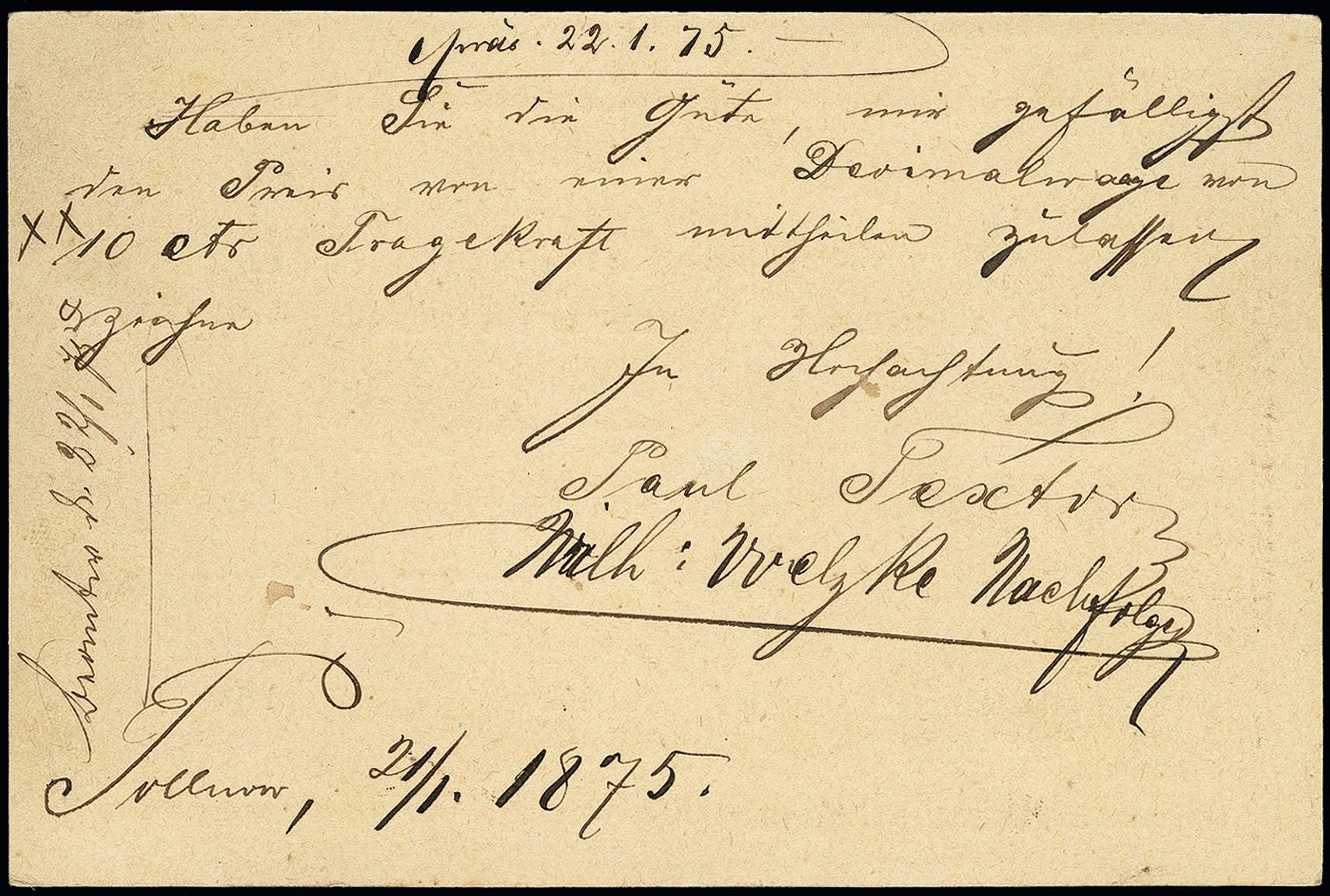 Lot 2795 - German Empire deutsches reich - hufeisenstempel -  Heinrich Koehler Auktionen 373rd Heinrich Köhler auction - Day 5