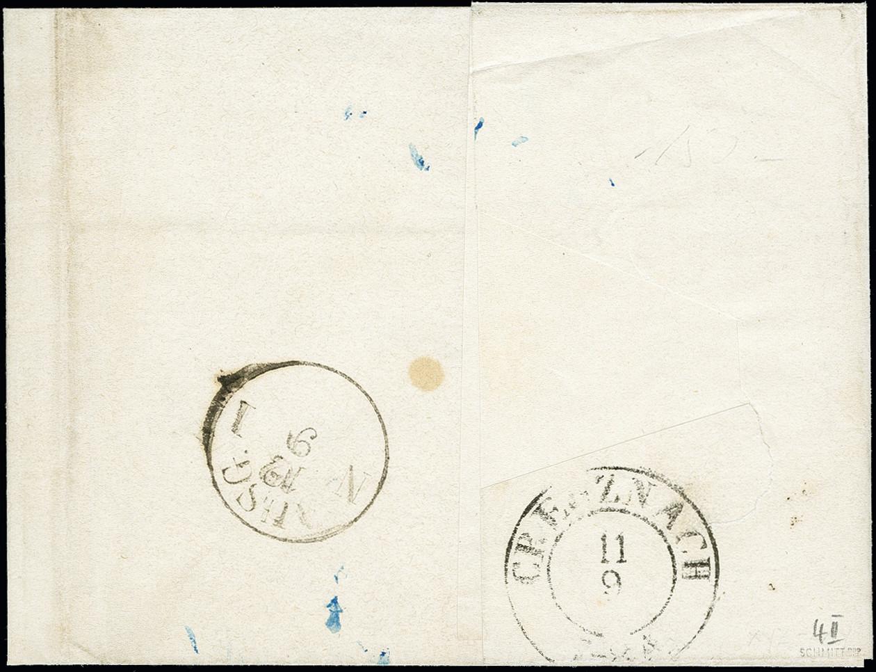Lot 4629 - german states bavaria -  Heinrich Koehler Auktionen 373rd Heinrich Köhler auction - Day 3