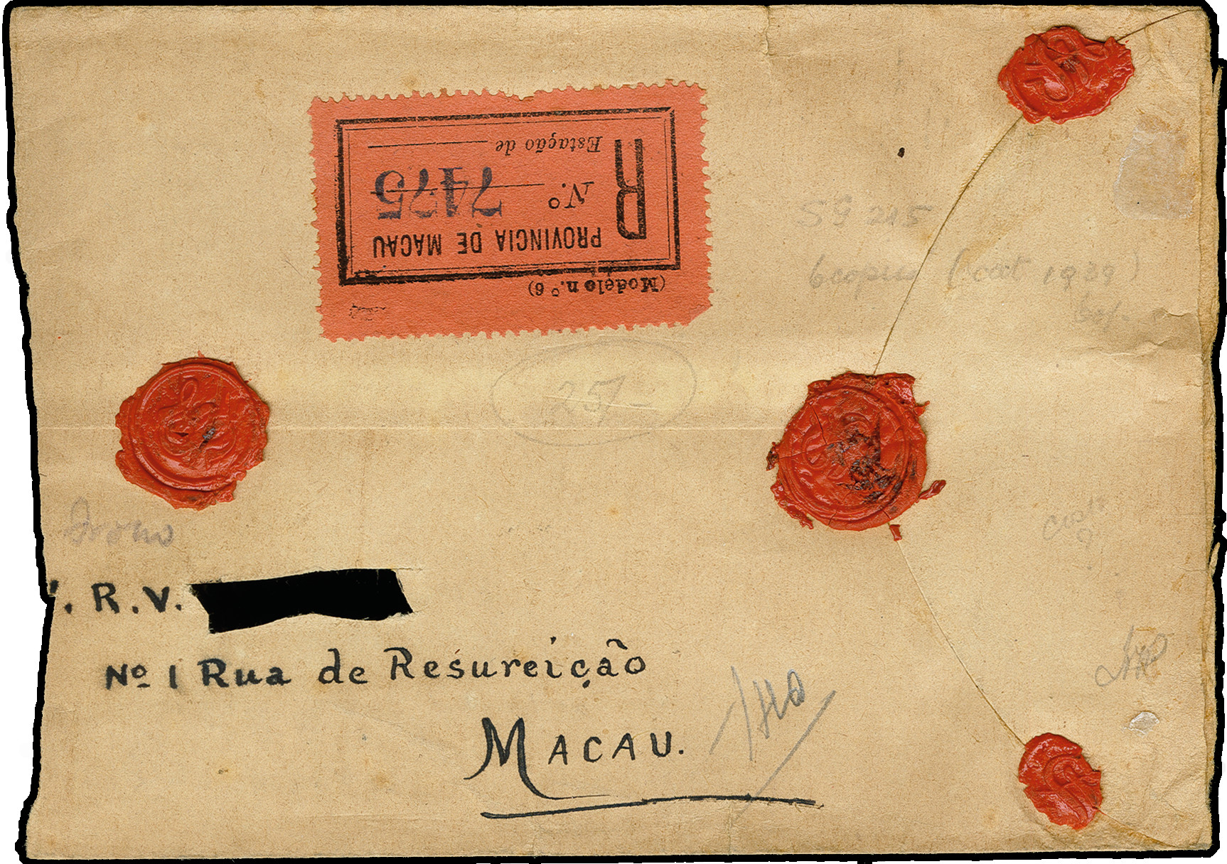 Lot 941 - portuguese colonies macao -  Heinrich Koehler Auktionen 373rd Heinrich Köhler auction - Day 1