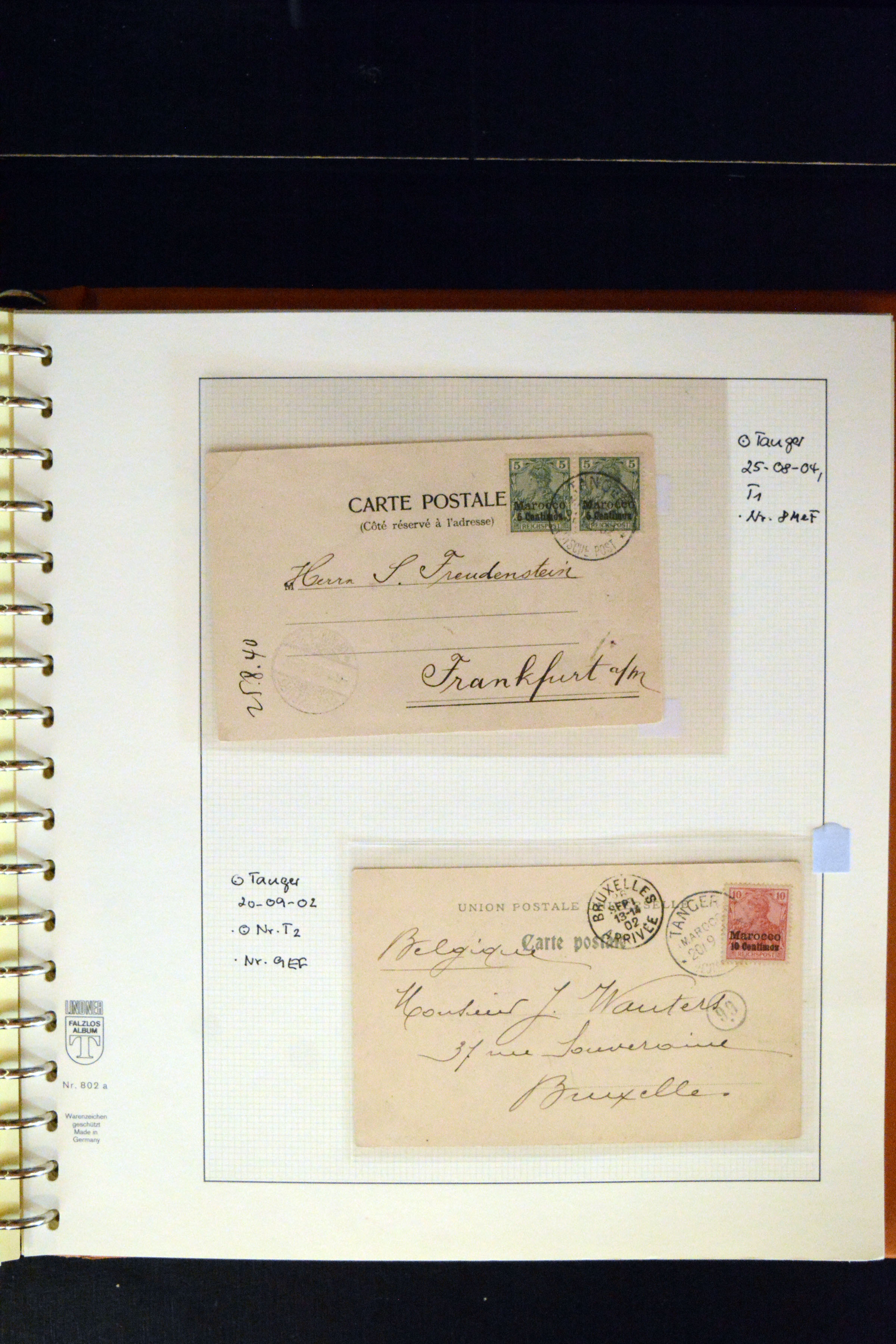 Lot 4876 - german colonies and offices abroad german post in marocco -  Heinrich Koehler Auktionen 373rd Heinrich Köhler auction - Day 3