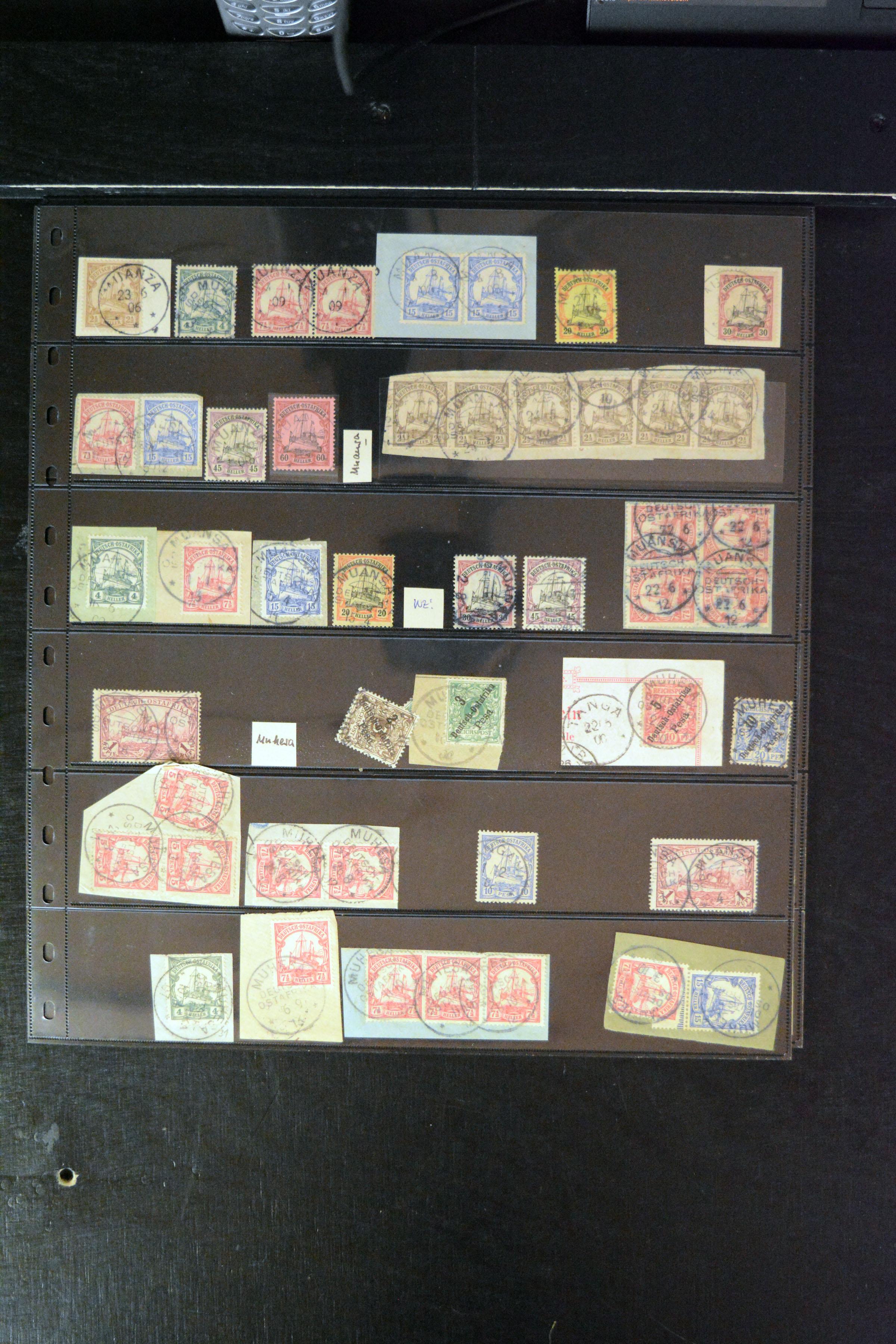 Lot 4880 - german colonies and offices abroad german east africa -  Heinrich Koehler Auktionen 373rd Heinrich Köhler auction - Day 3
