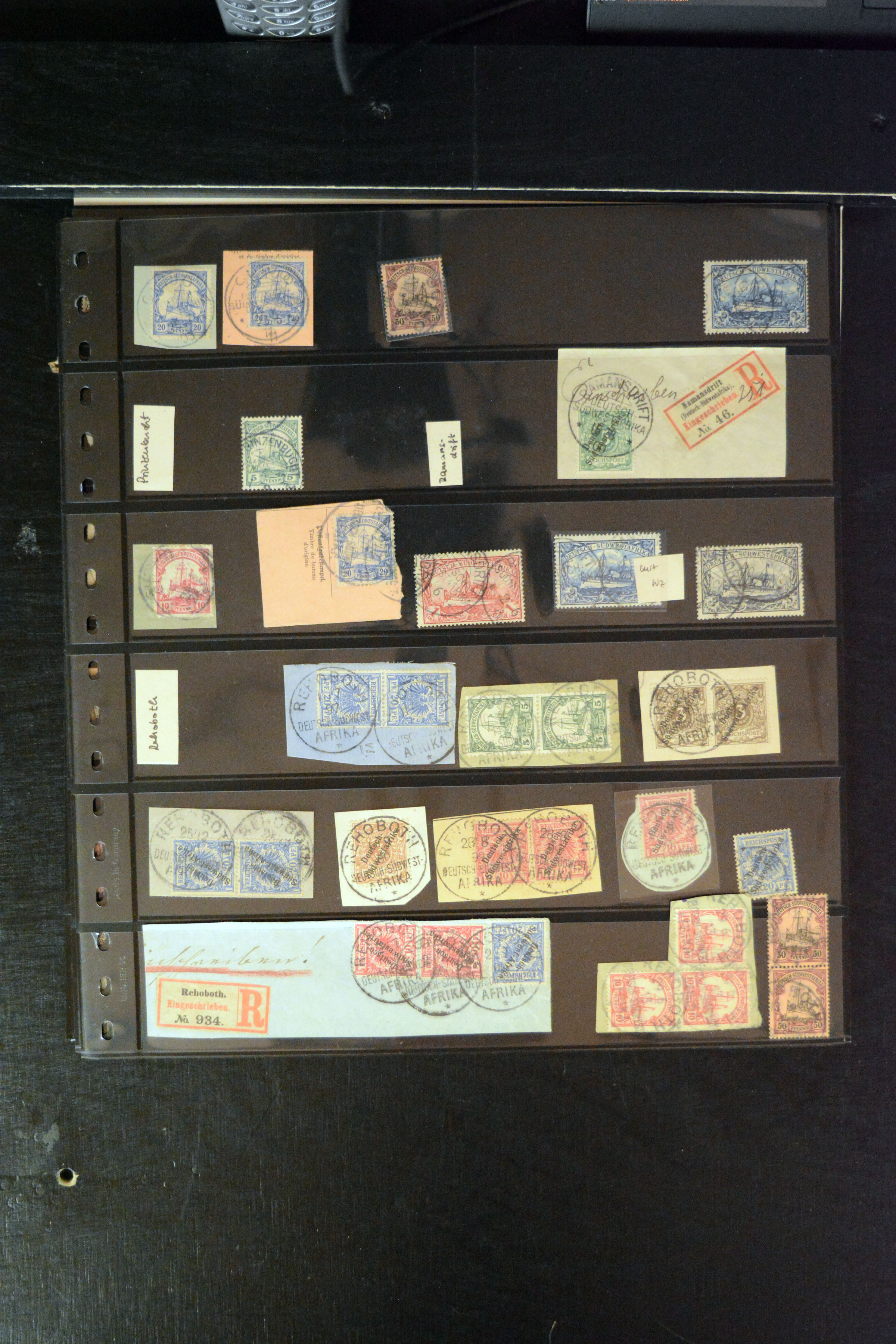 Lot 4881 - german colonies and offices abroad german south-west africa -  Heinrich Koehler Auktionen 373rd Heinrich Köhler auction - Day 3