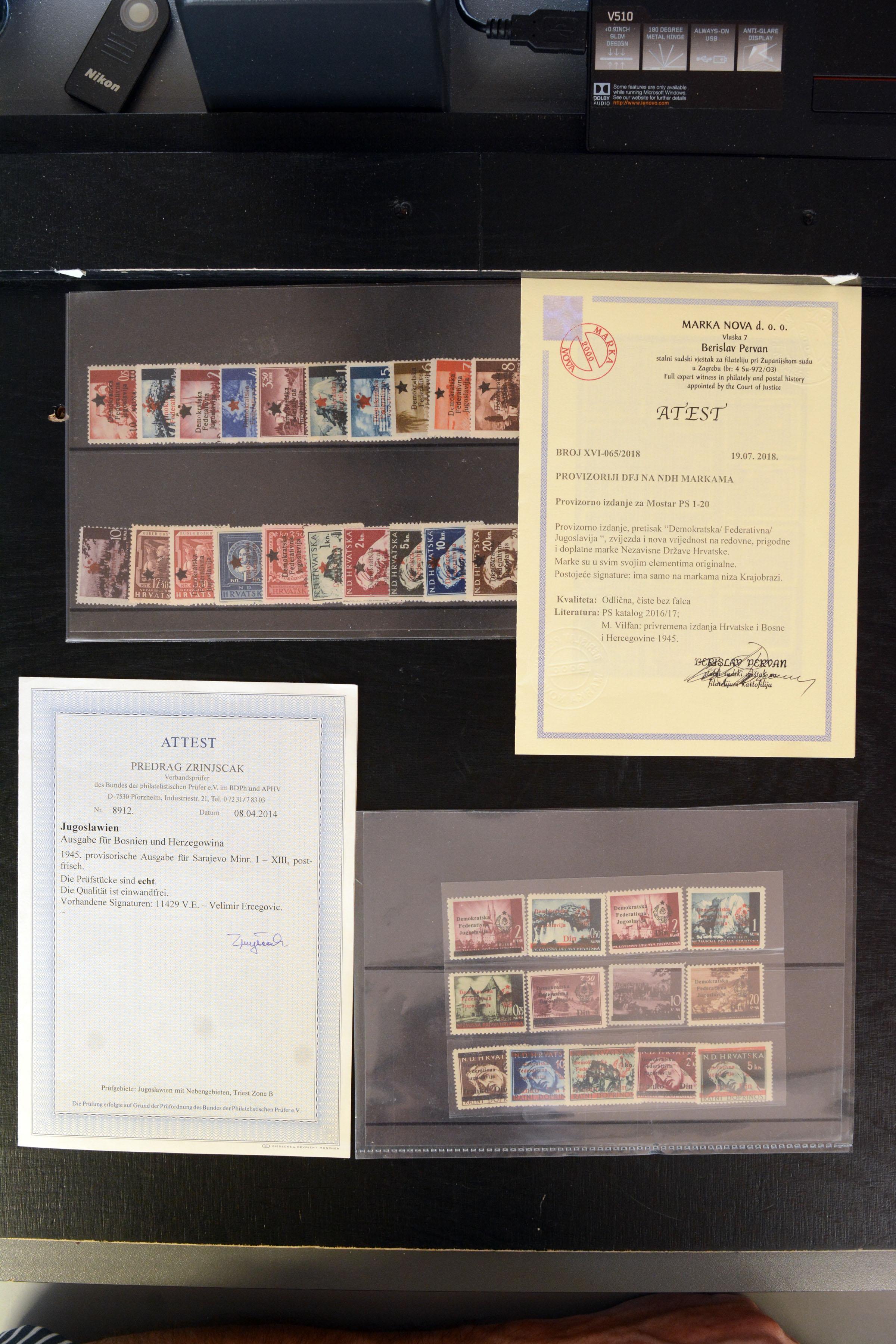 Lot 4149 - europe Yugoslavia -  Heinrich Koehler Auktionen 373rd Heinrich Köhler auction - Day 2