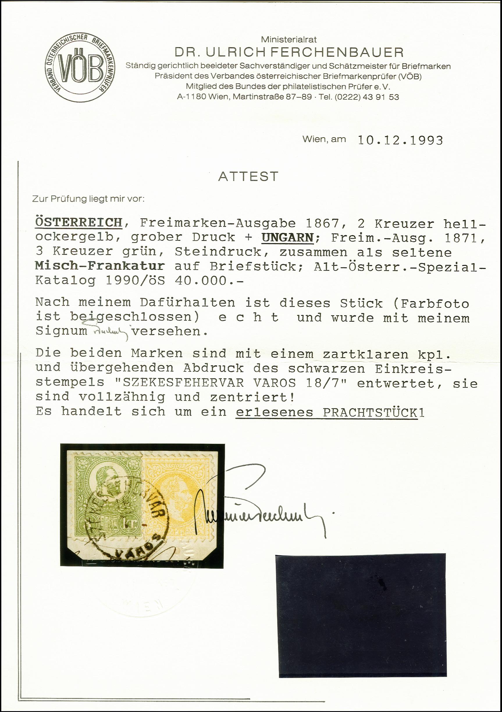 Lot 1480 - europa Hungary -  Heinrich Koehler Auktionen 375rd Heinrich Köhler auction - Day 1