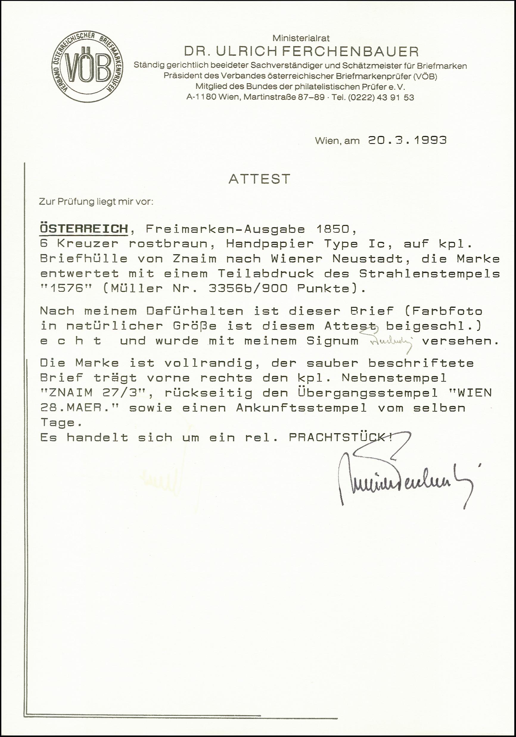 Lot 1079 - europa Austria -  Heinrich Koehler Auktionen 375rd Heinrich Köhler auction - Day 1