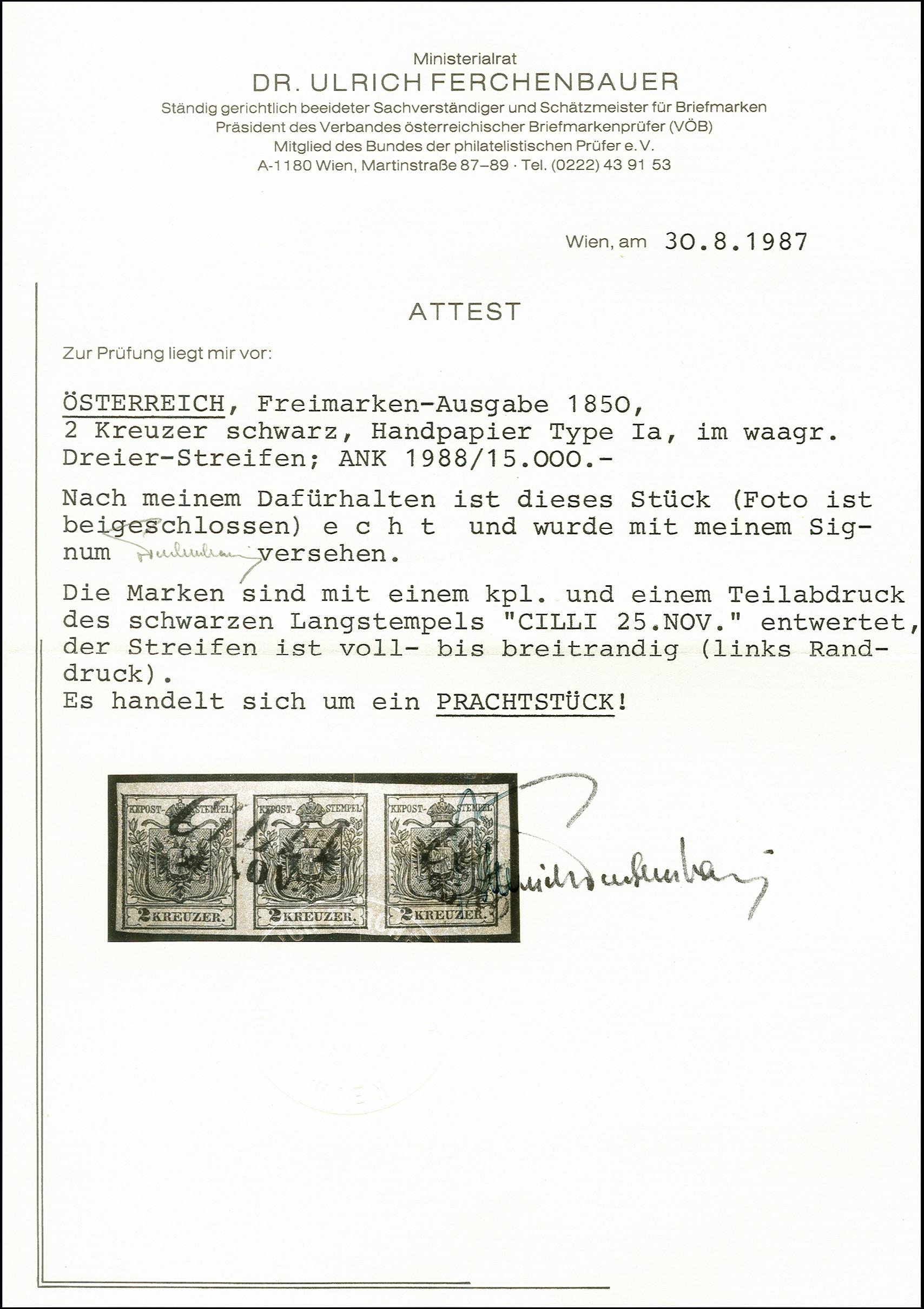 Lot 1006 - europa Austria -  Heinrich Koehler Auktionen 375rd Heinrich Köhler auction - Day 1
