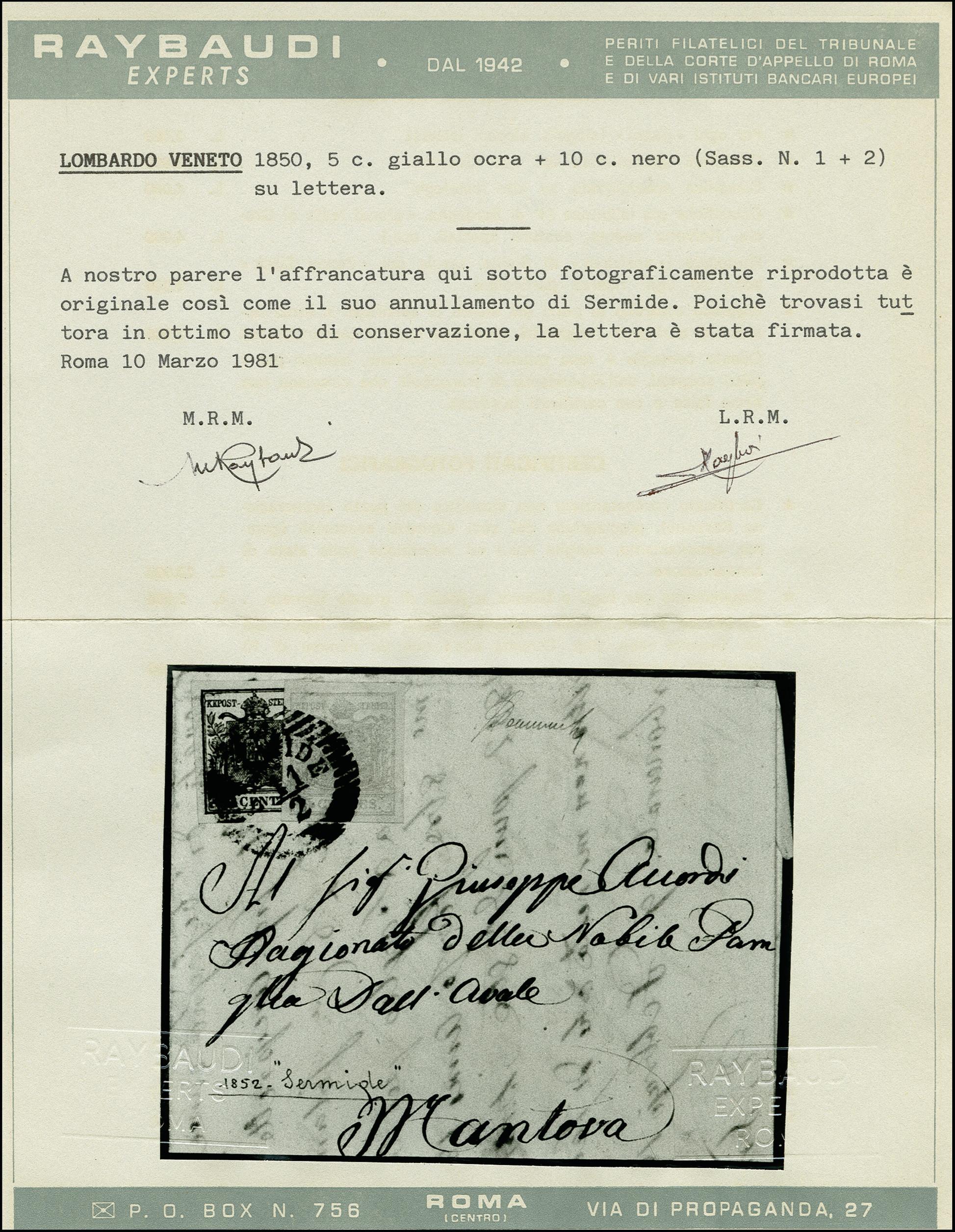 Lot 1095 - österreich lombardy venetia -  Heinrich Koehler Auktionen 375rd Heinrich Köhler auction - Day 1
