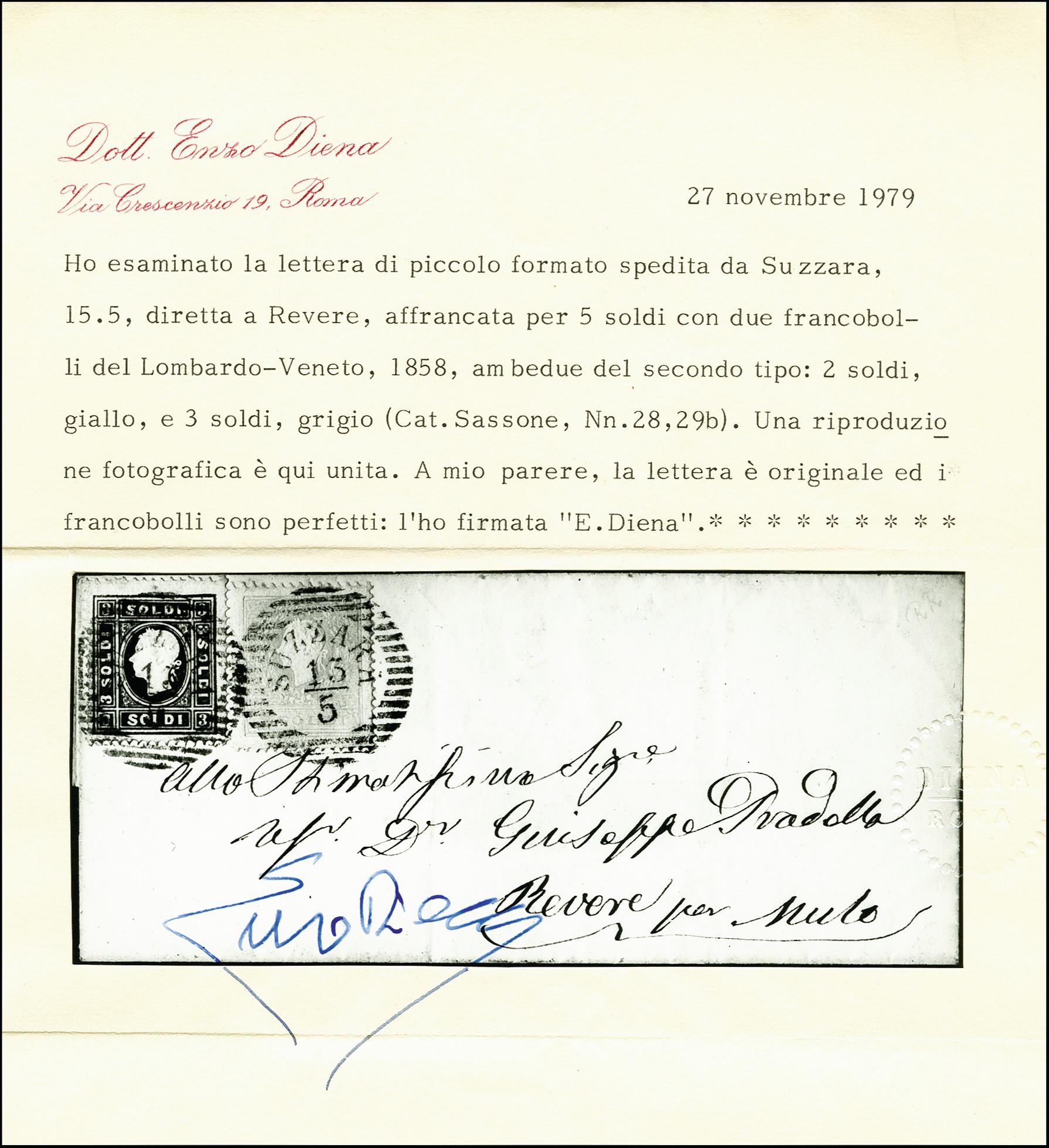 Lot 1104 - österreich lombardy venetia -  Heinrich Koehler Auktionen 375rd Heinrich Köhler auction - Day 1