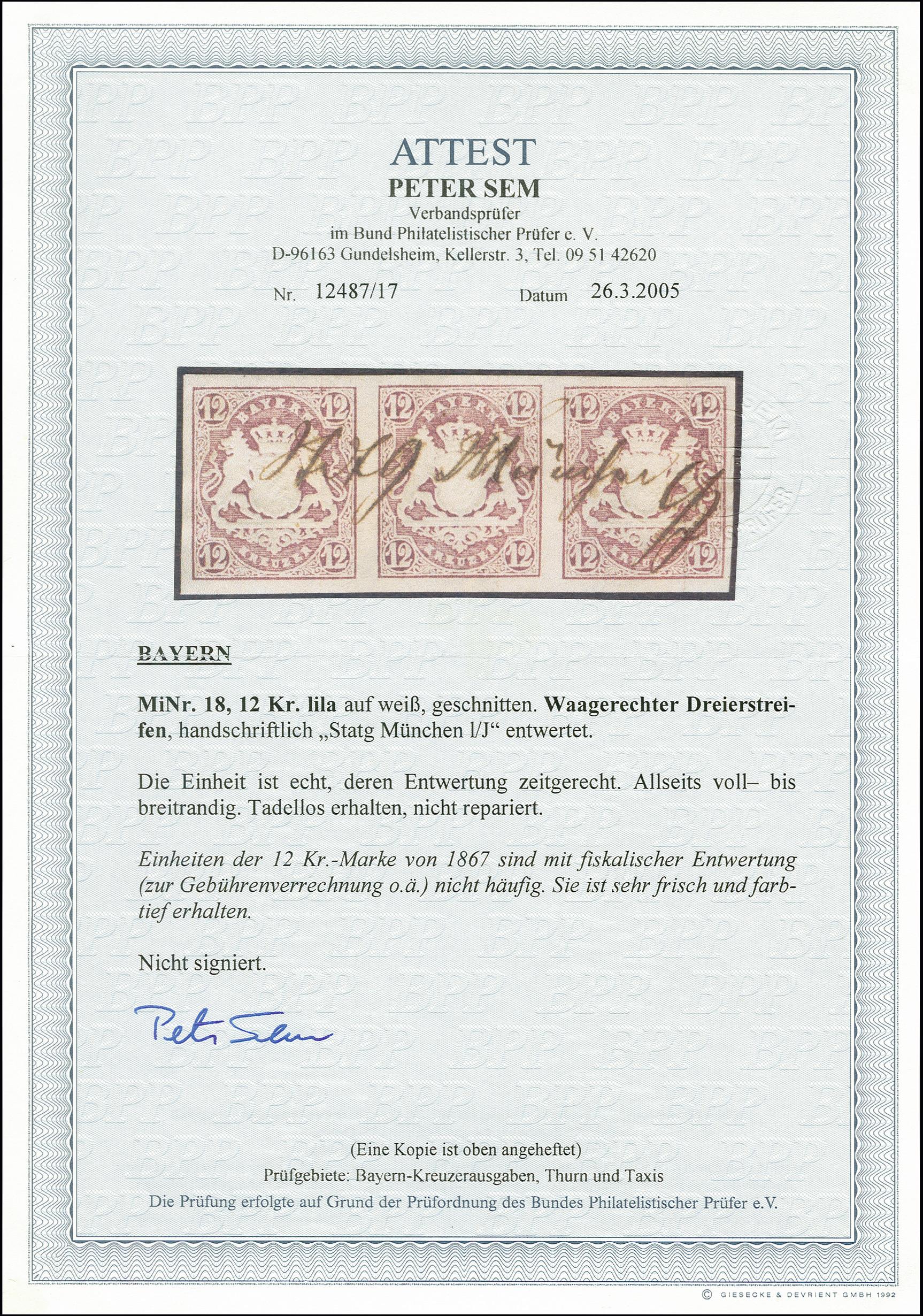 Lot 7091 - Altdeutsche Staaten bavaria -  Heinrich Koehler Auktionen 375rd Heinrich Köhler auction - Day 5