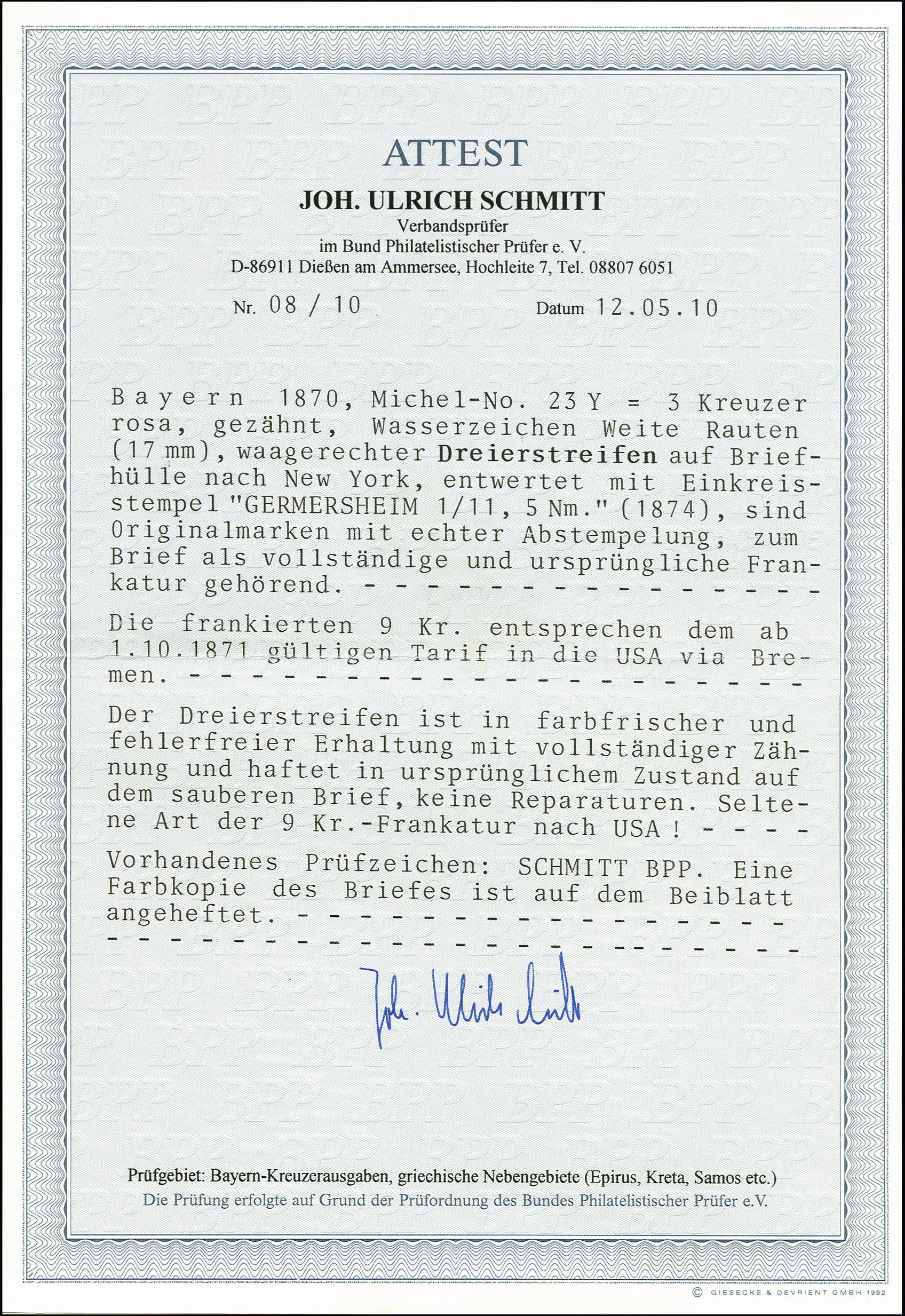 Lot 7121 - Altdeutsche Staaten bavaria -  Heinrich Koehler Auktionen 375rd Heinrich Köhler auction - Day 5