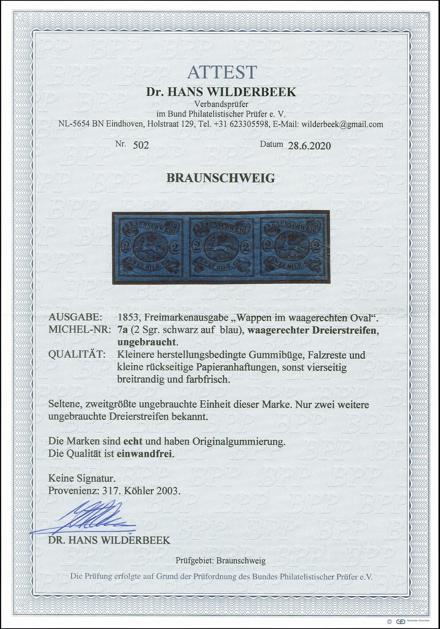 Lot 4330 - Altdeutsche Staaten brunswick -  Heinrich Koehler Auktionen 375rd Heinrich Köhler auction - Day 5