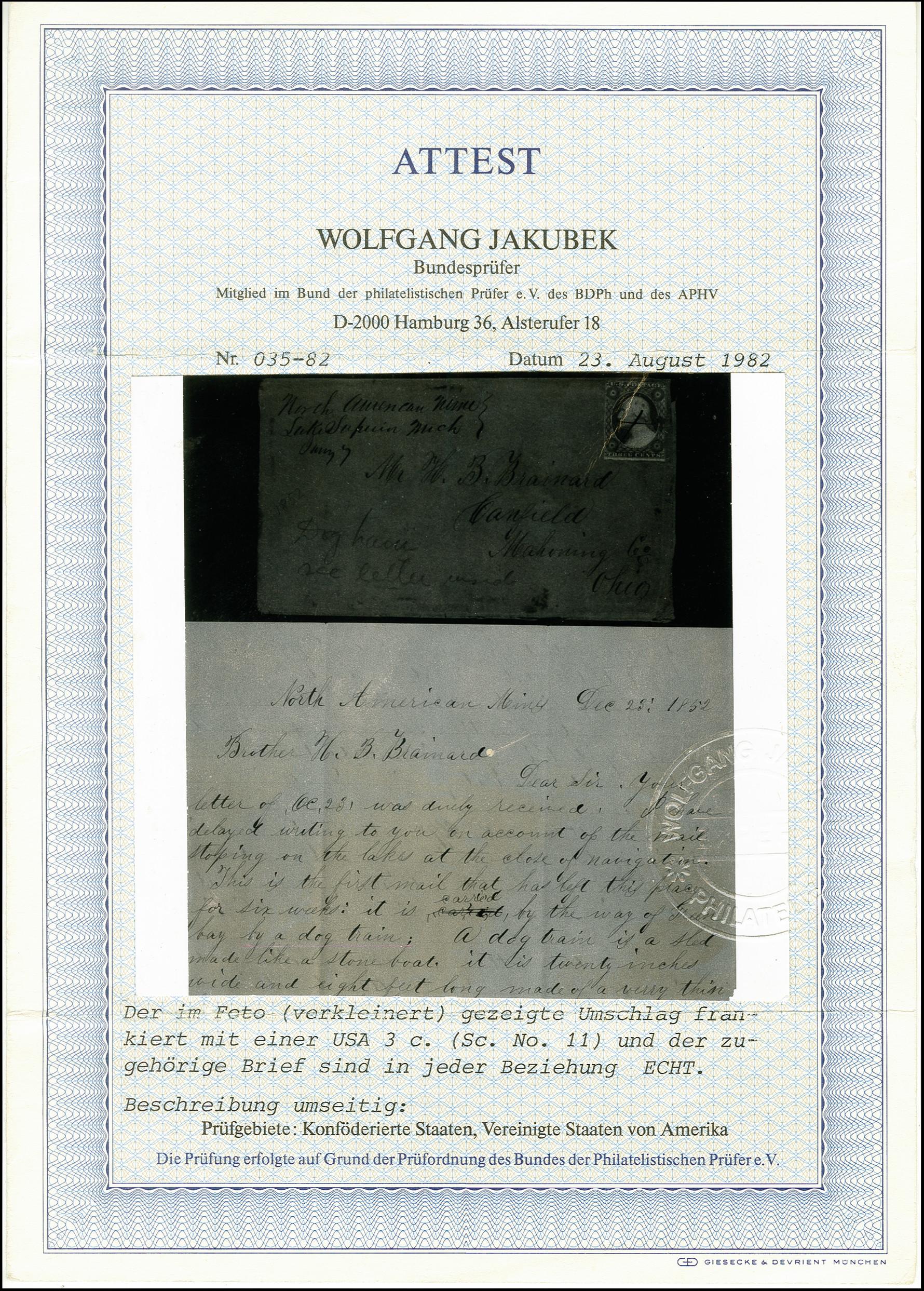 Lot 2179 - übersee United States of America -  Heinrich Koehler Auktionen 375rd Heinrich Köhler auction - Day 1