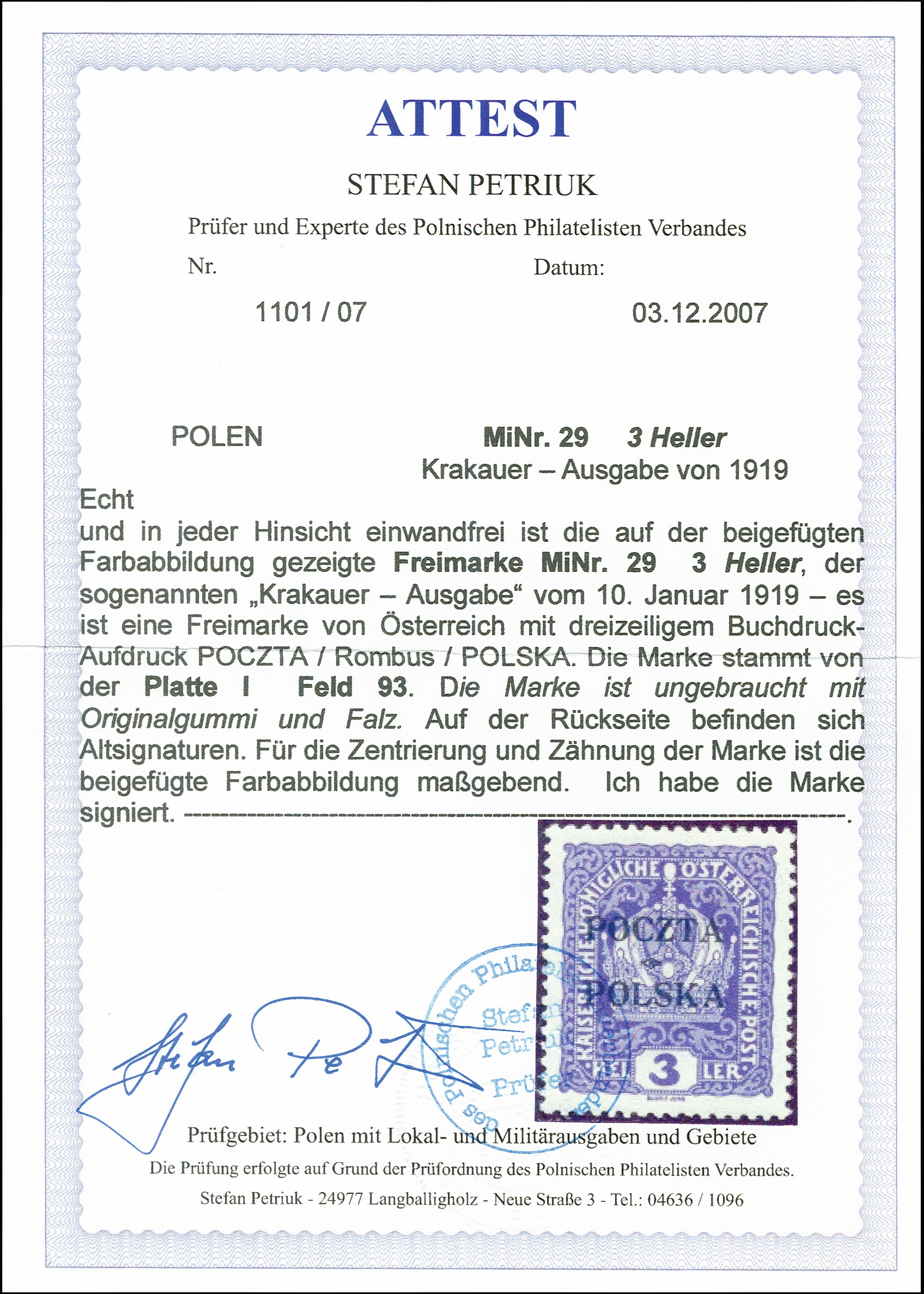 Lot 1750 - europa Poland -  Heinrich Koehler Auktionen 375rd Heinrich Köhler auction - Day 1