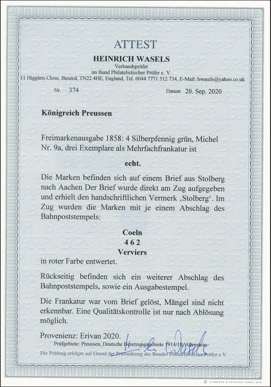 Lot 175 - preussen prussia - cancellations -  Heinrich Koehler Auktionen 375rd Heinrich Köhler auction - Day 6