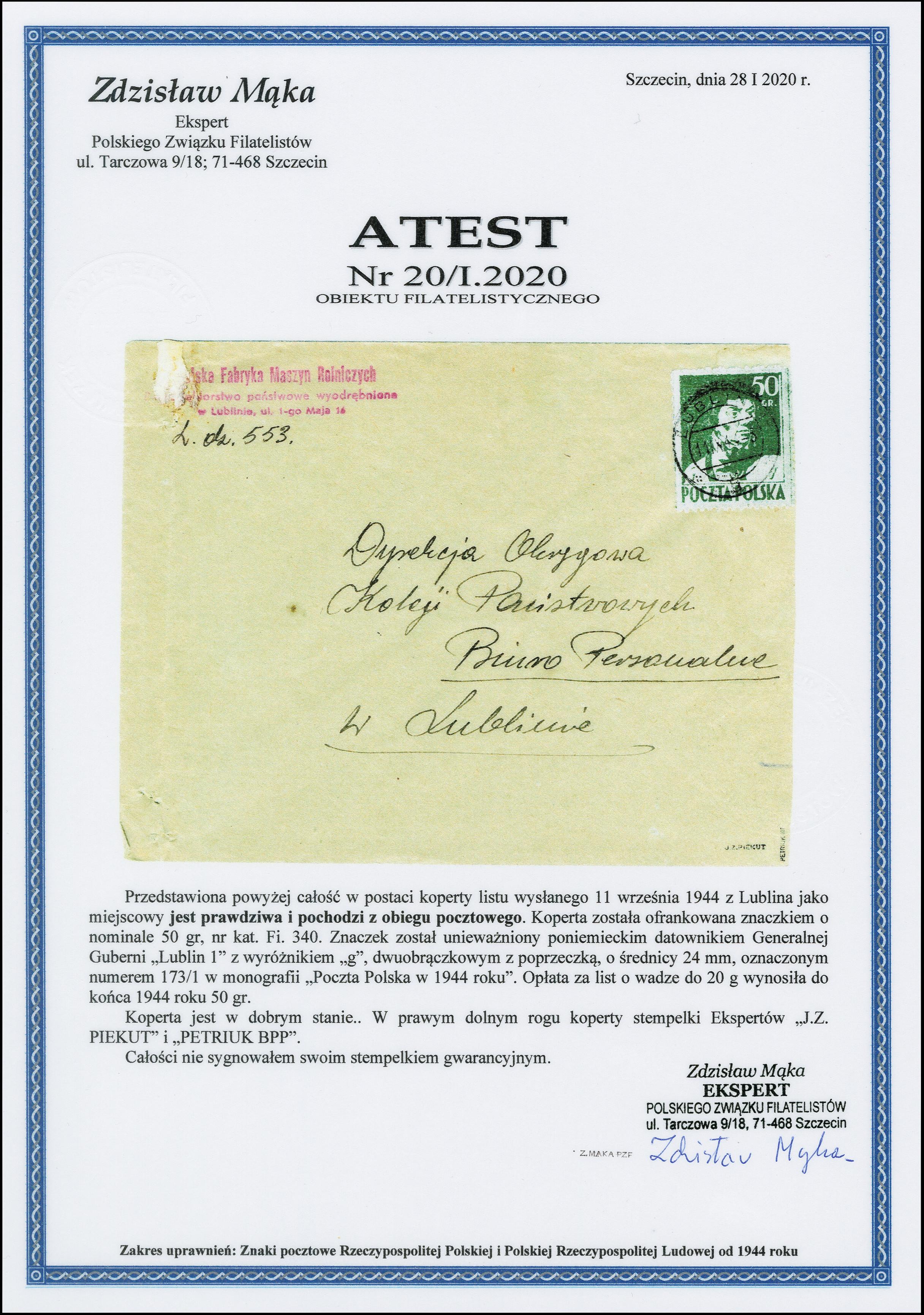 Lot 1811 - europa Poland -  Heinrich Koehler Auktionen 375rd Heinrich Köhler auction - Day 1