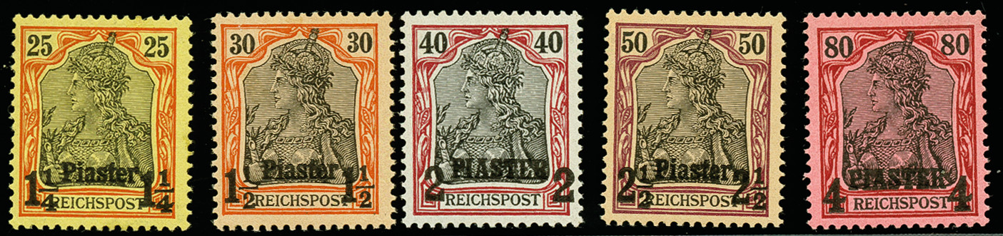 Lot 2834 - deutsche auslandspostämter und kolonien german post in turkey -  Heinrich Koehler Auktionen 375rd Heinrich Köhler auction - Day 2