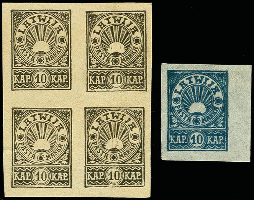 Lot 1725 - europa latvia -  Heinrich Koehler Auktionen 375rd Heinrich Köhler auction - Day 1