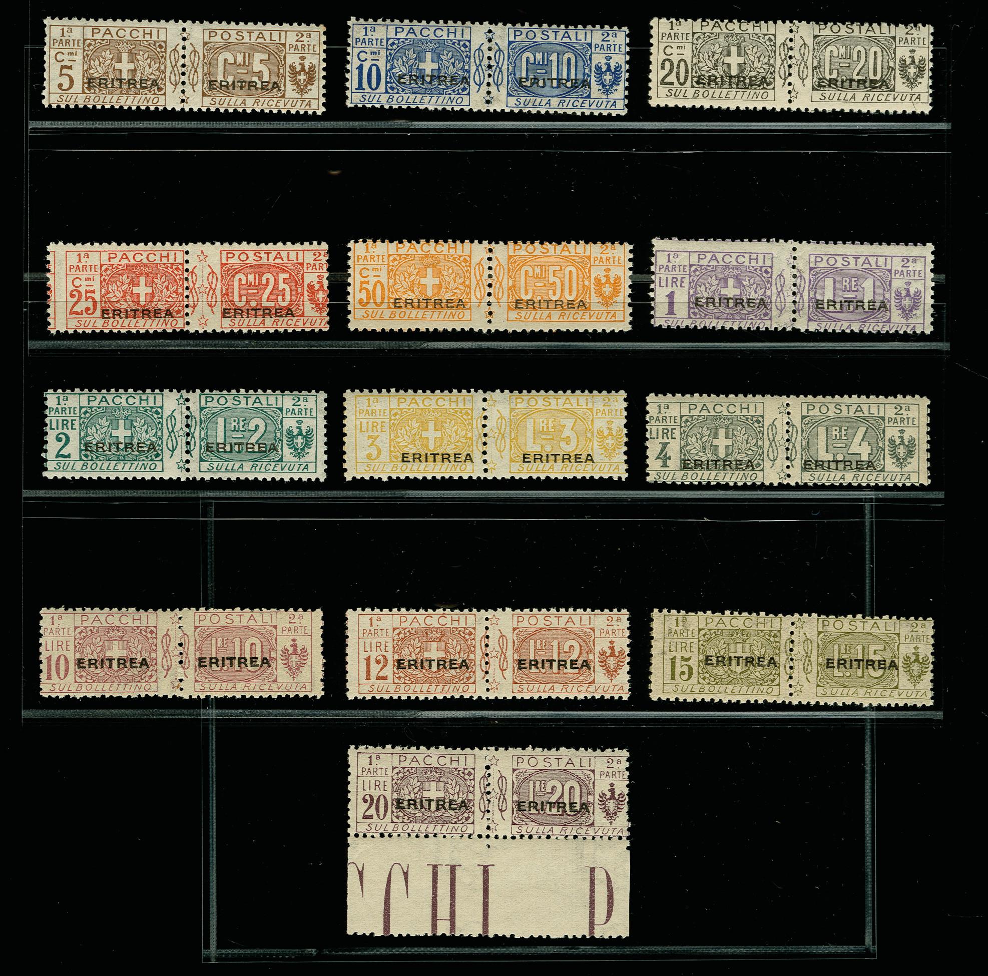 Lot 1724 - italienische post im ausland italian eritrea -  Heinrich Koehler Auktionen 375rd Heinrich Köhler auction - Day 1