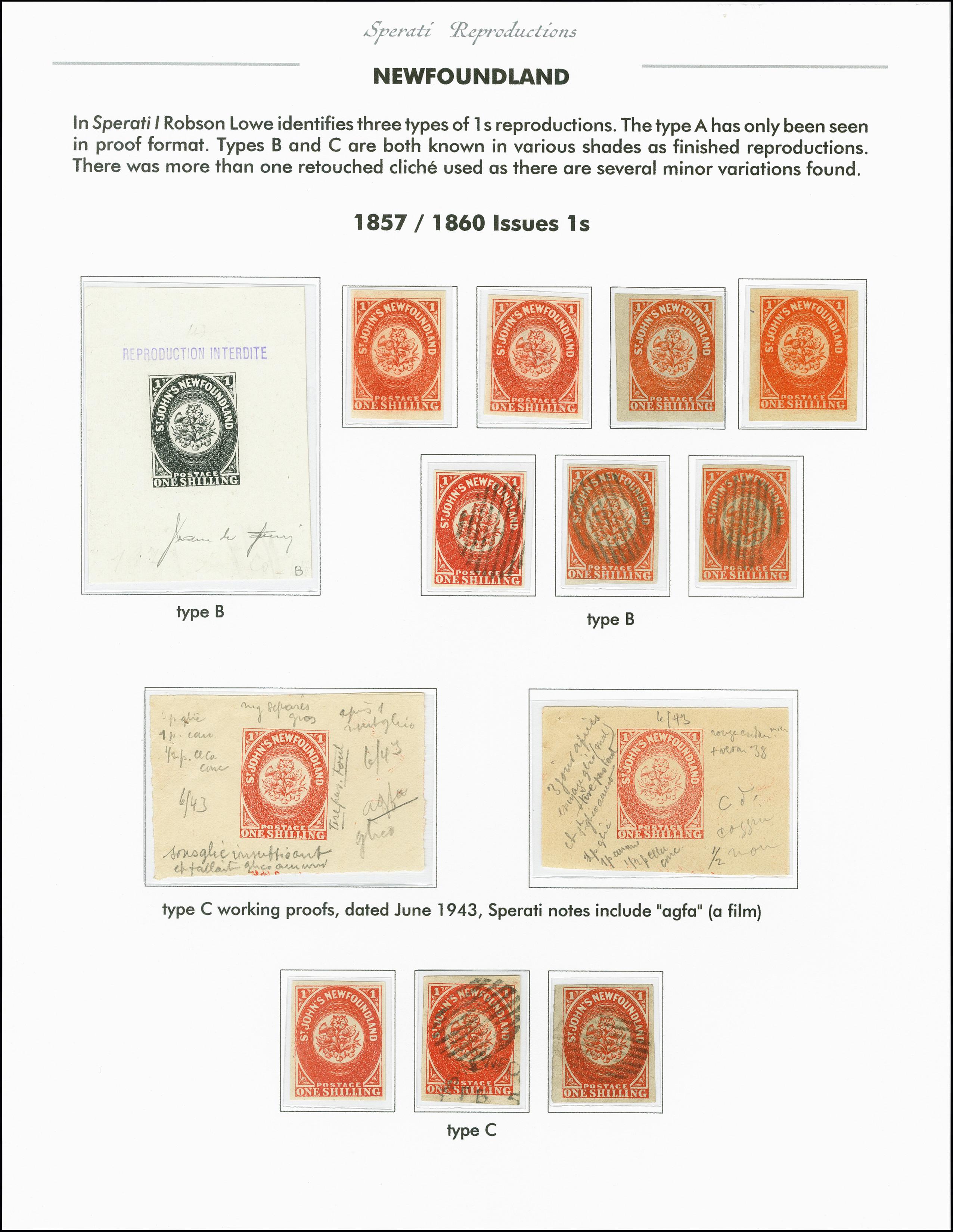 Lot 2250 - kanada Newfoundland -  Heinrich Koehler Auktionen 375rd Heinrich Köhler auction - Day 1
