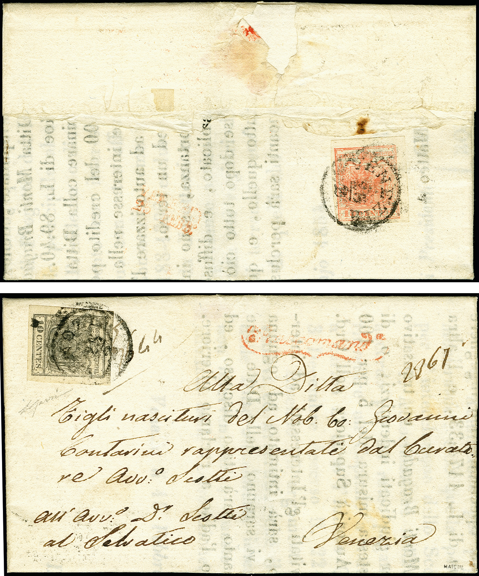 Lot 1097 - österreich lombardy venetia -  Heinrich Koehler Auktionen 375rd Heinrich Köhler auction - Day 1