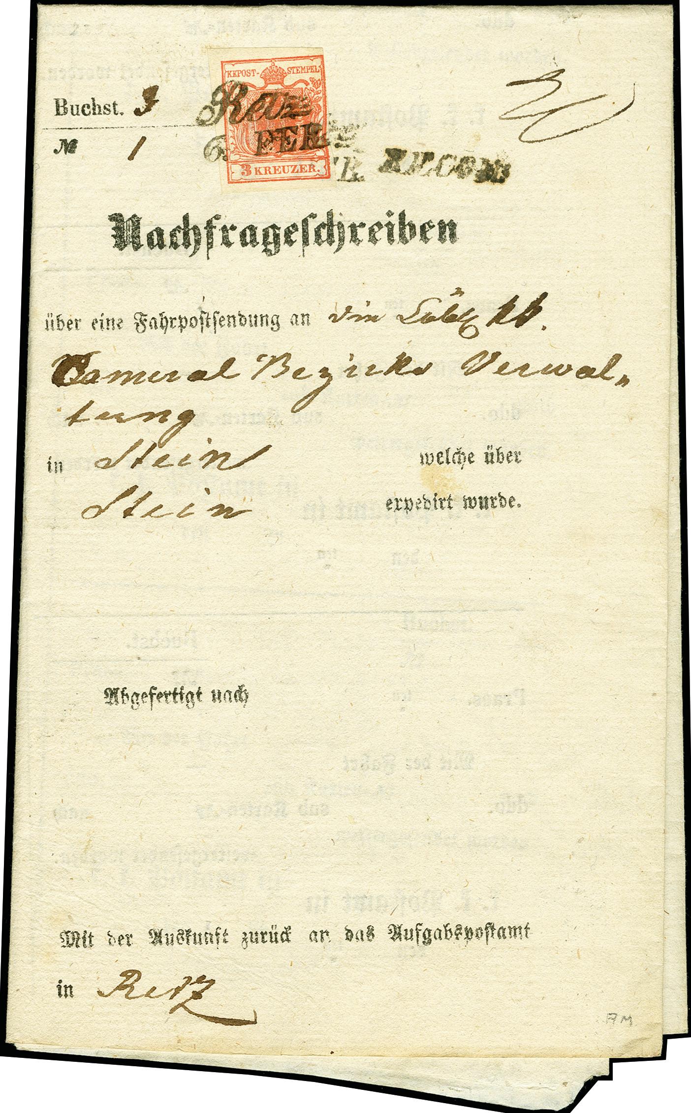 Lot 1009 - europa Austria -  Heinrich Koehler Auktionen 375rd Heinrich Köhler auction - Day 1