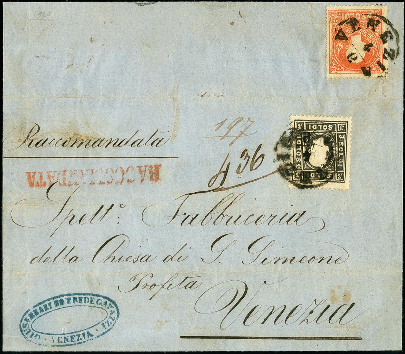 Lot 1105 - österreich lombardy venetia -  Heinrich Koehler Auktionen 375rd Heinrich Köhler auction - Day 1