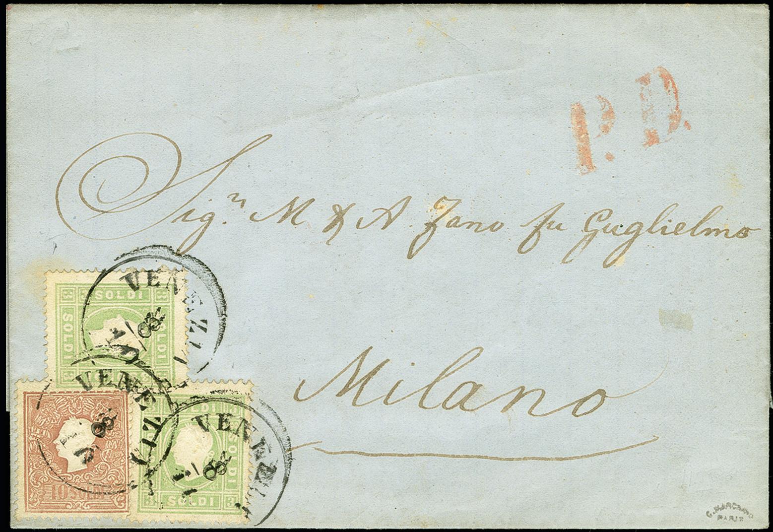 Lot 1109 - österreich lombardy venetia -  Heinrich Koehler Auktionen 375rd Heinrich Köhler auction - Day 1