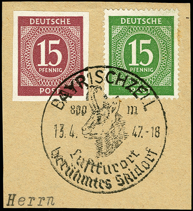 Lot 3564 - deutschland nach 1945 allied occupation -  Heinrich Koehler Auktionen 375rd Heinrich Köhler auction - Day 3