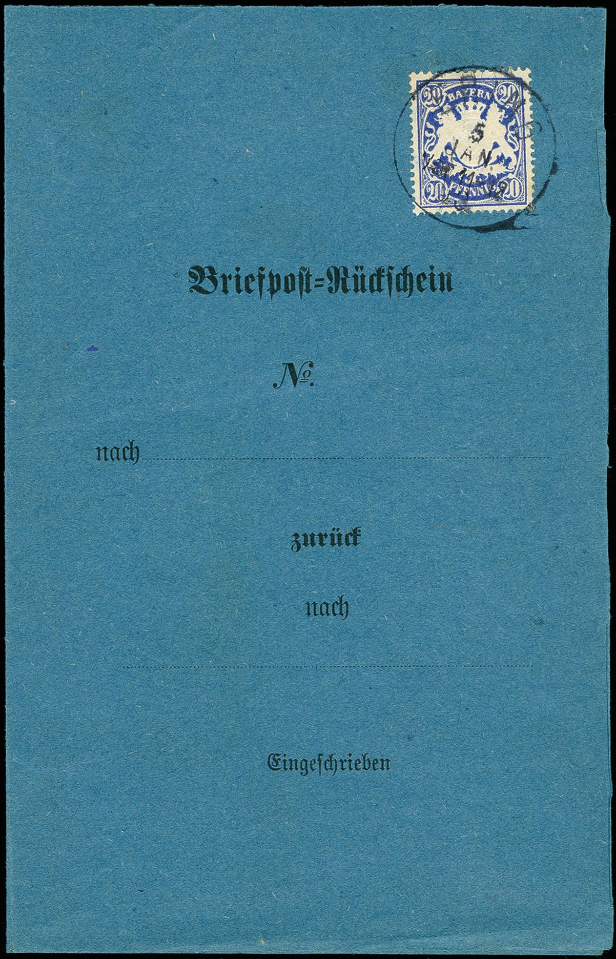 Lot 7174 - Altdeutsche Staaten bavaria -  Heinrich Koehler Auktionen 375rd Heinrich Köhler auction - Day 5