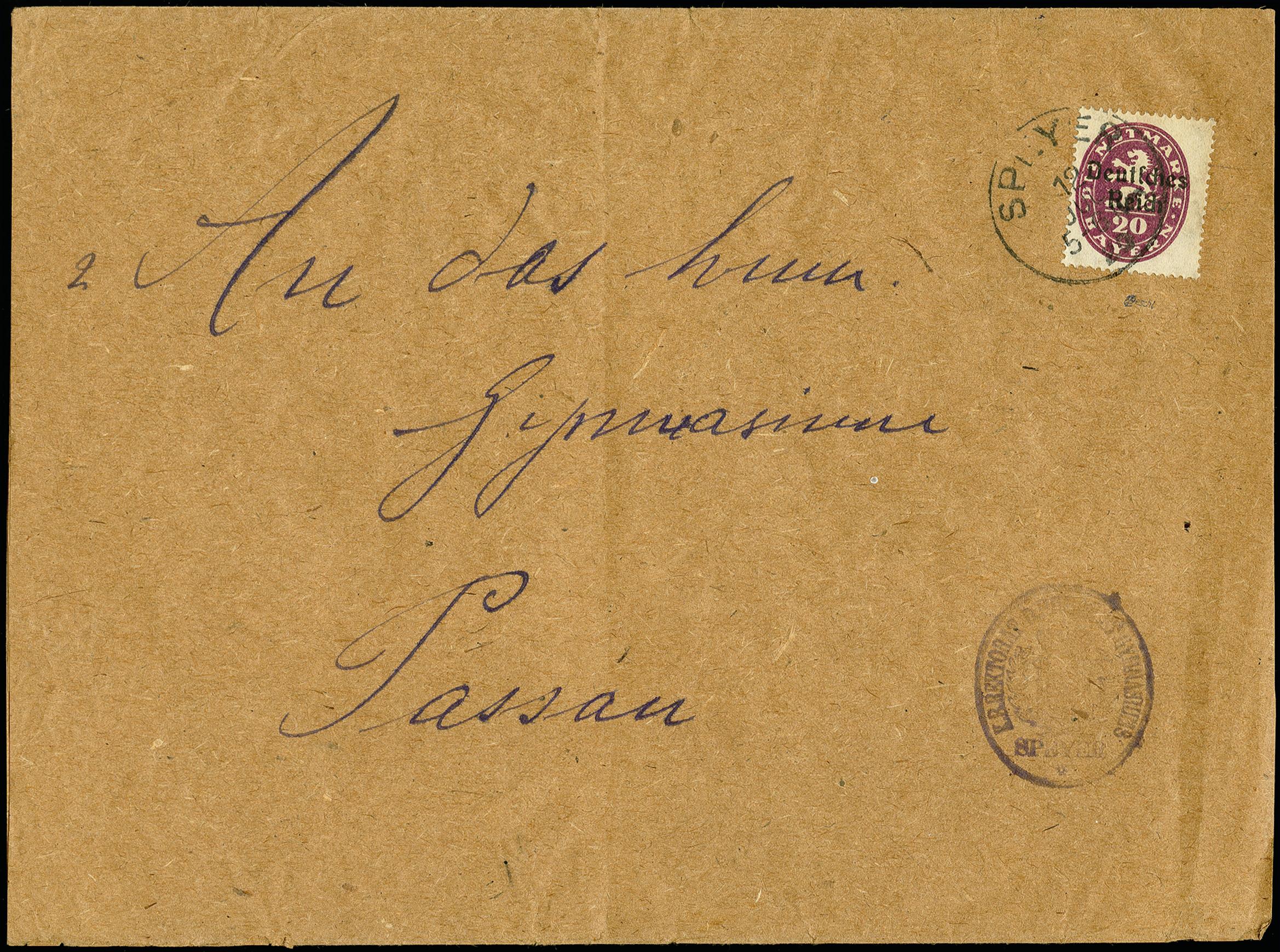 Lot 2730 - Deutsches Reich german empier - officials -  Heinrich Koehler Auktionen 375rd Heinrich Köhler auction - Day 2