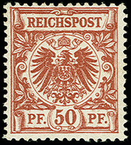 Lot 2468 - Main catalogue German Empire -  Heinrich Koehler Auktionen 375rd Heinrich Köhler auction - Day 2