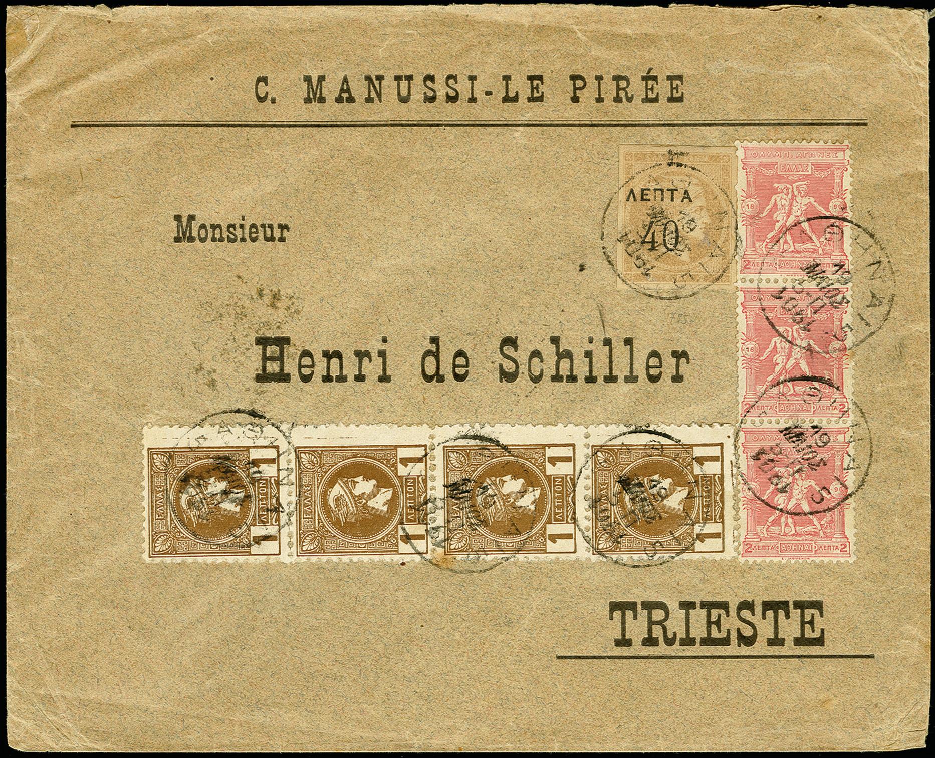 Lot 1418 - europa Greece -  Heinrich Koehler Auktionen 375rd Heinrich Köhler auction - Day 1