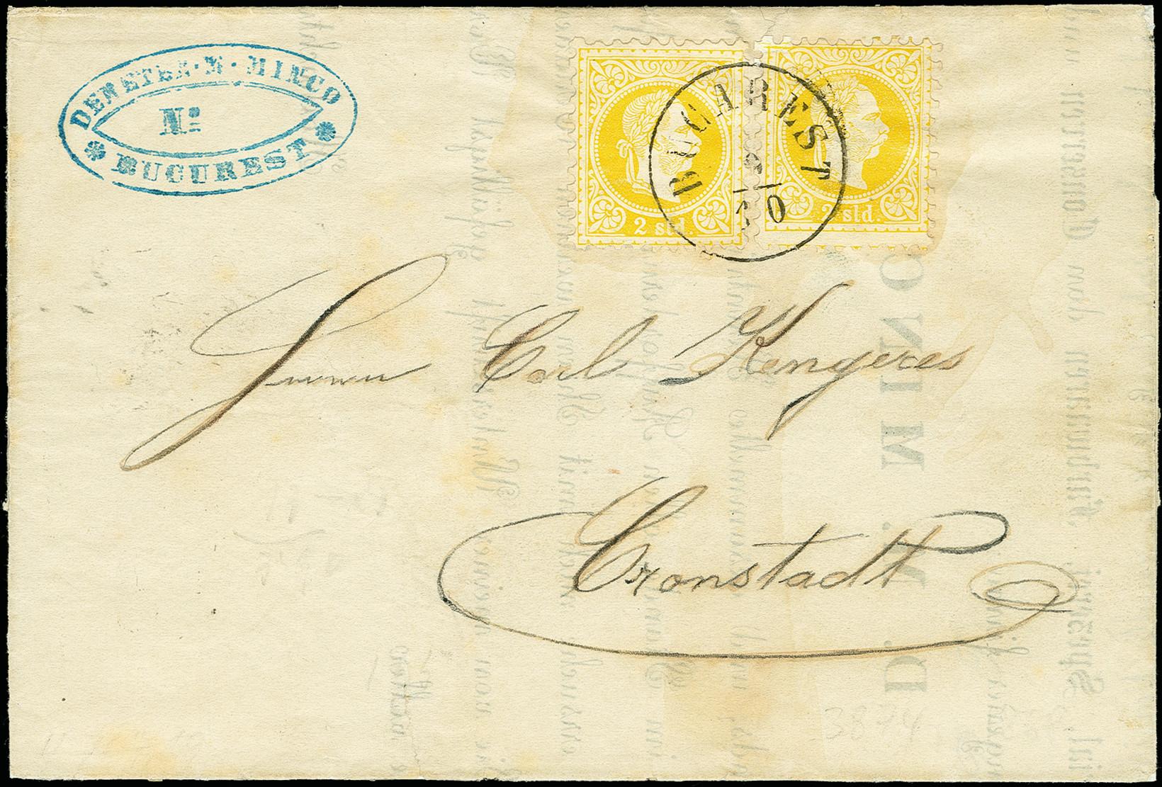 Lot 1890 - europa Romania -  Heinrich Koehler Auktionen 375rd Heinrich Köhler auction - Day 1