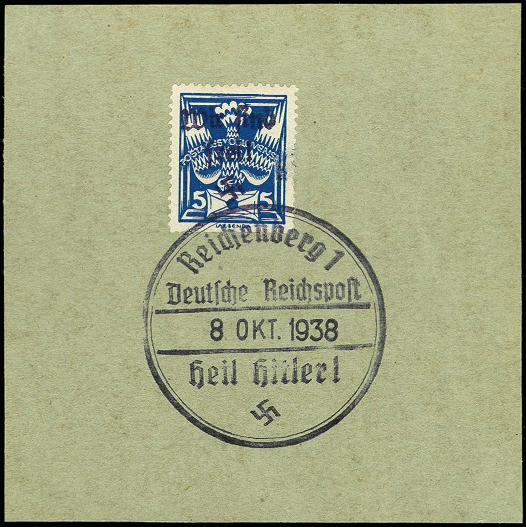 Lot 3324 - sudetenland Sudetenland - Reichenberg -  Heinrich Koehler Auktionen 375rd Heinrich Köhler auction - Day 2